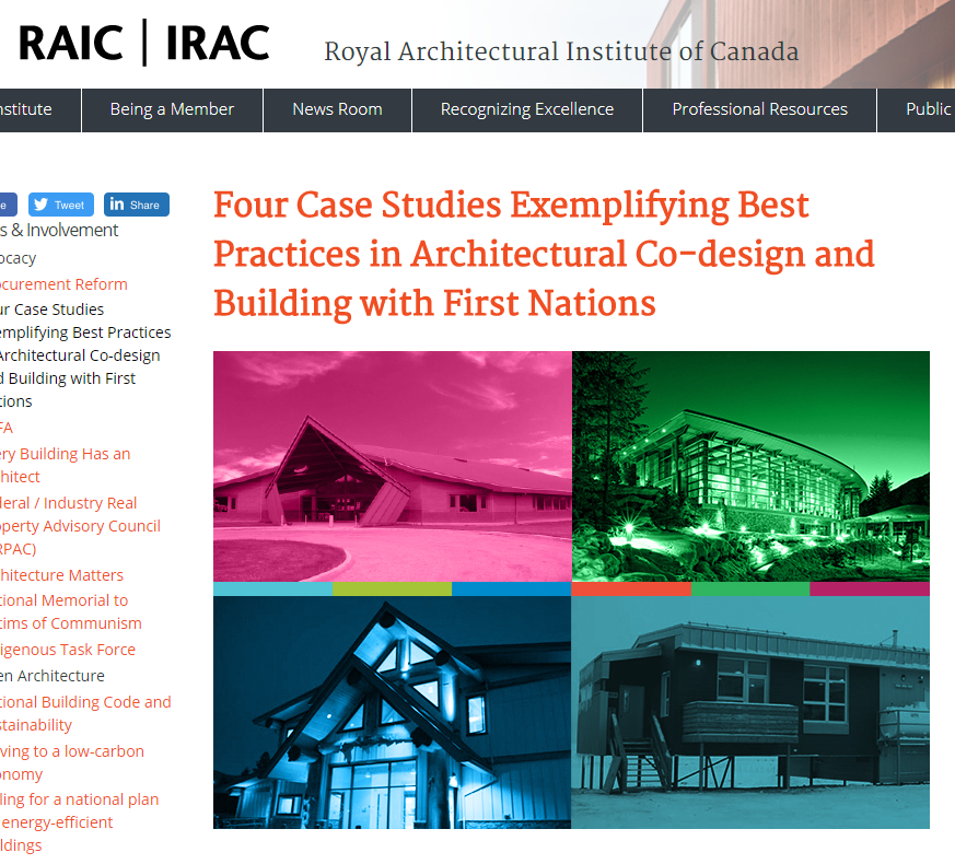 NEWS - Formline Architecture - Architecture, Indigenous
