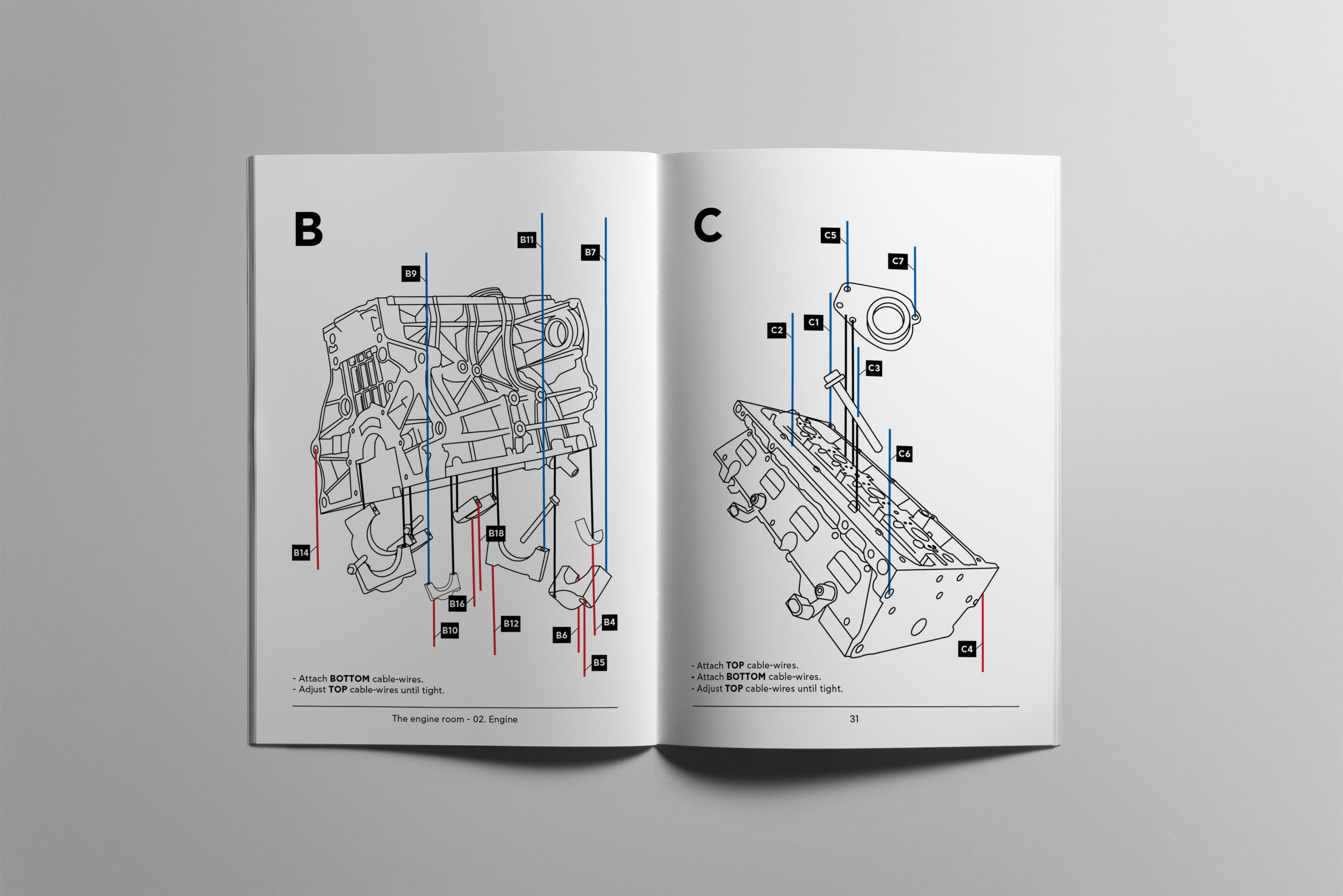 Engine Room Christina Pandjarou B5 Diagram Prev Next 1 Of