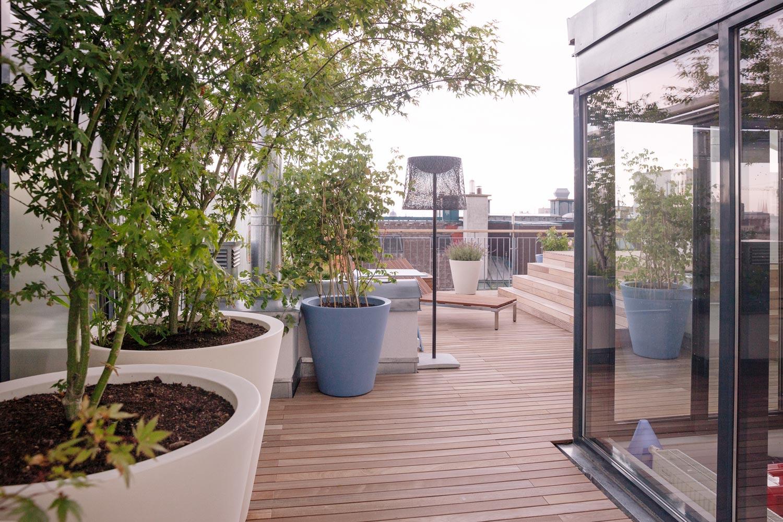 Outdoorküche Zubehör Wien : Dachterrasse s wien 1070 kramer and kramer