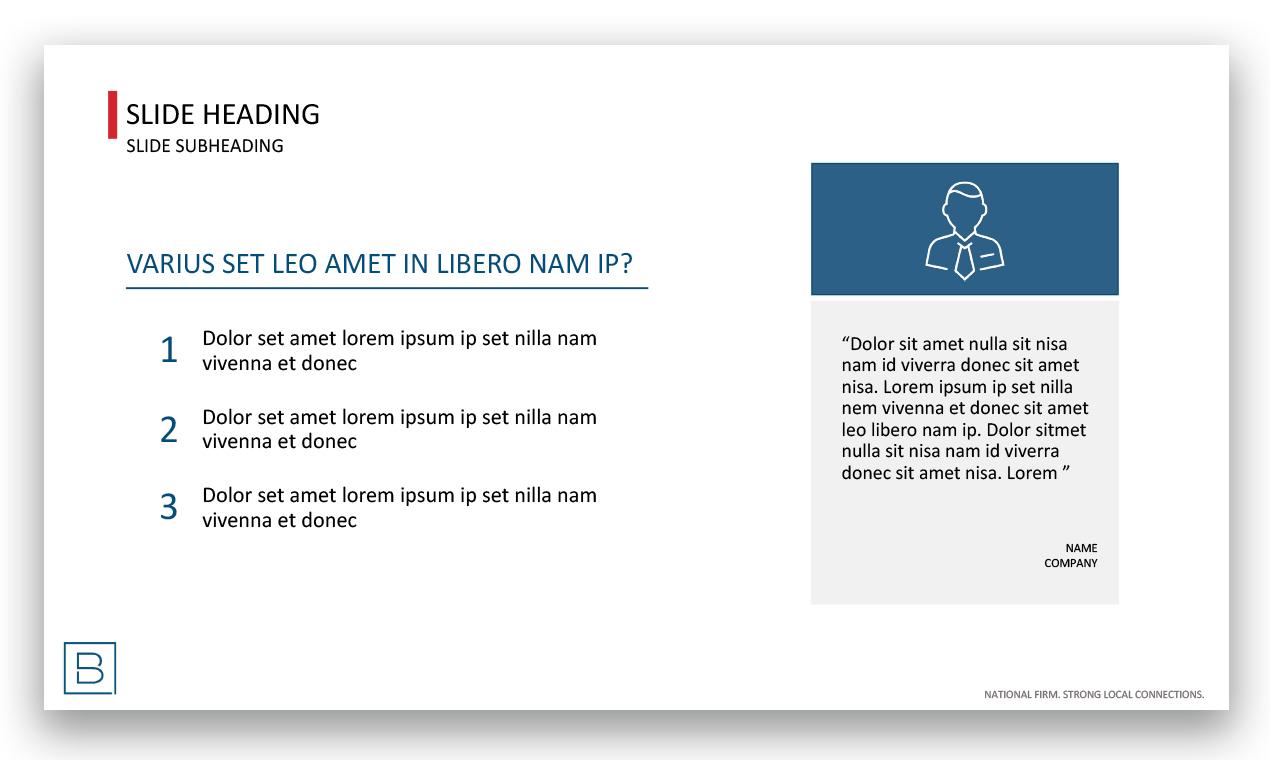 Corporate Powerpoint Slides - Abbie Lowenstein