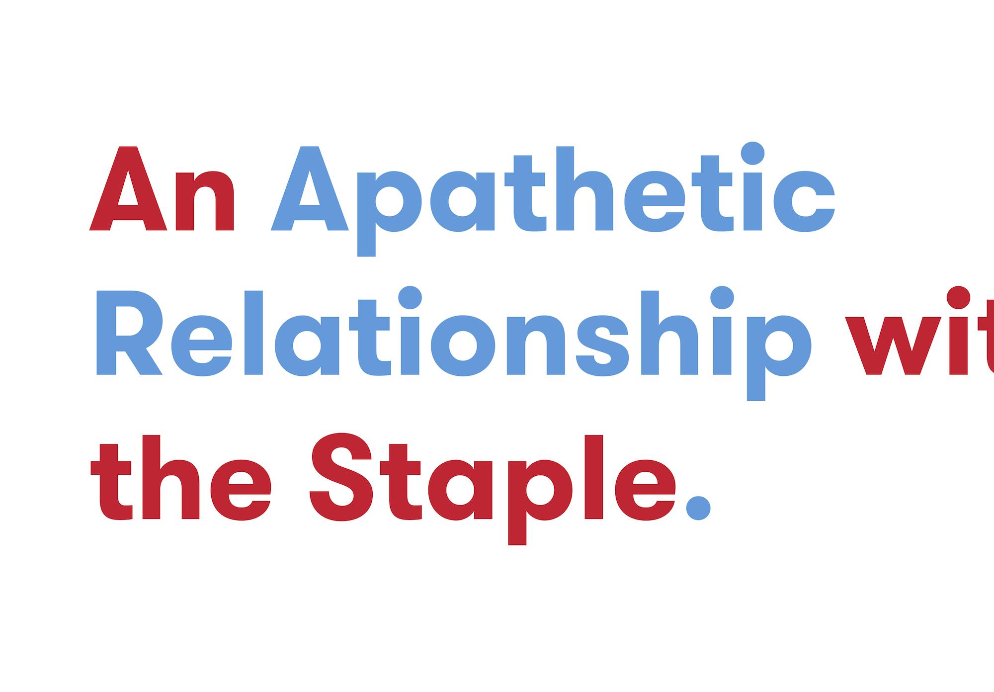 Apathetic relationship