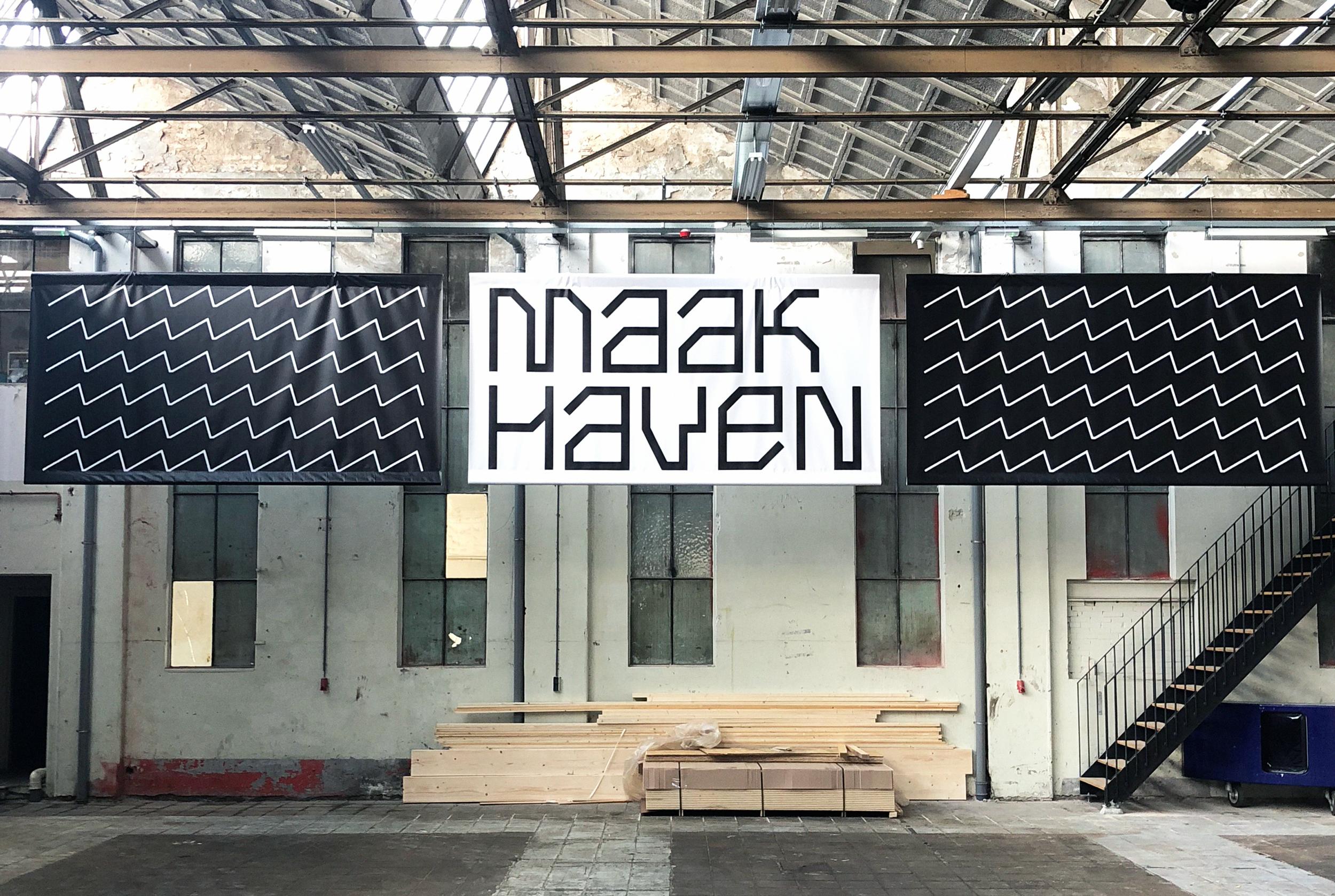 Maakhaven — Identity + Website - Studio Lennarts & de Bruijn