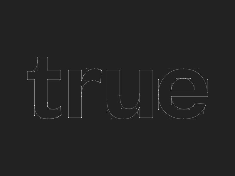Branding and Website for early stage Venture Capital firm True Ventures based in Silicon Valley, California