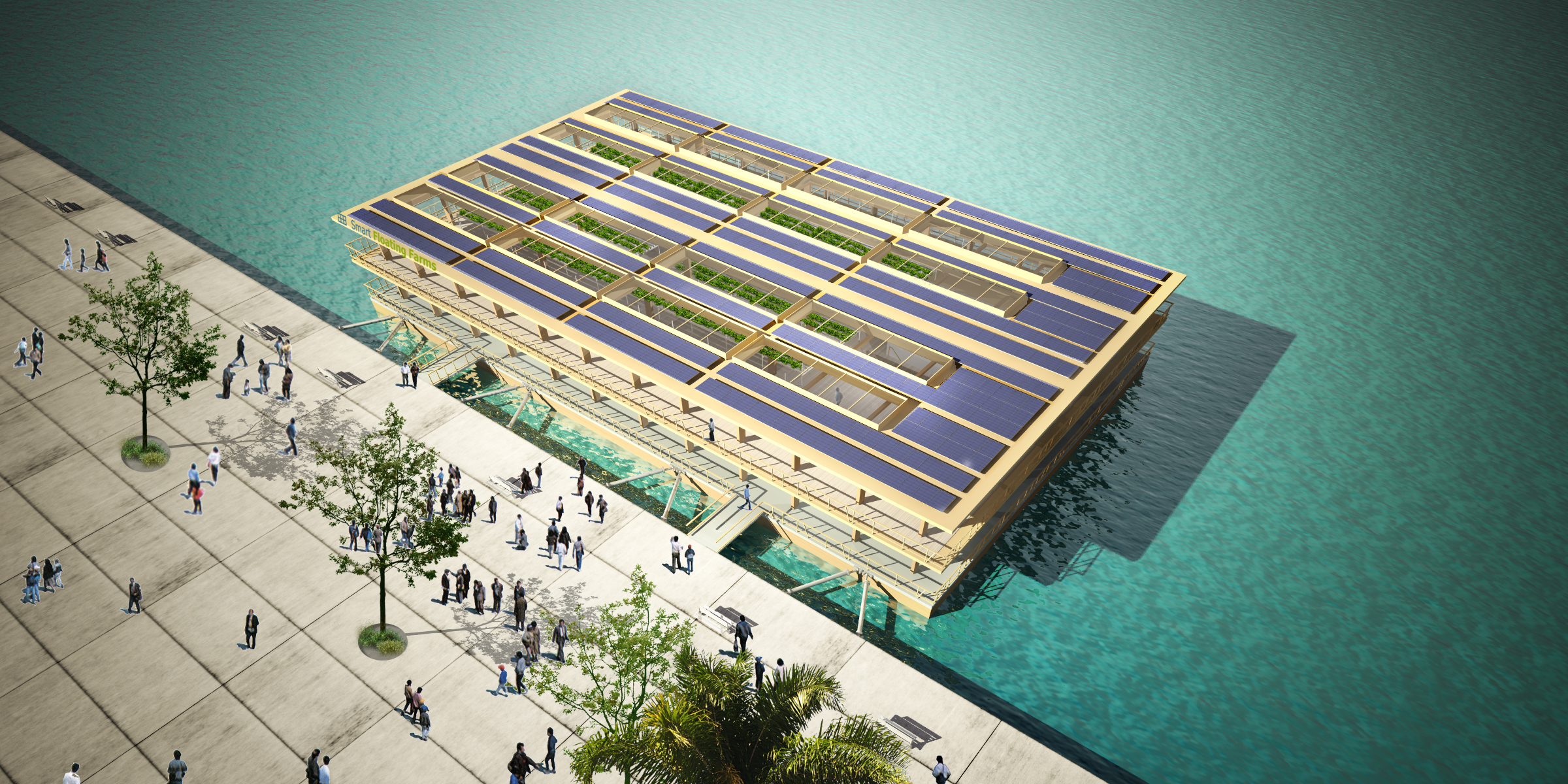 Smart Floating Farms