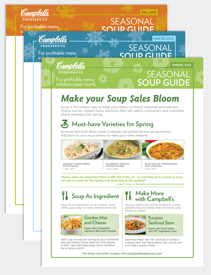 Campbell's Seasonal Soup Guides - Bryan Byczek