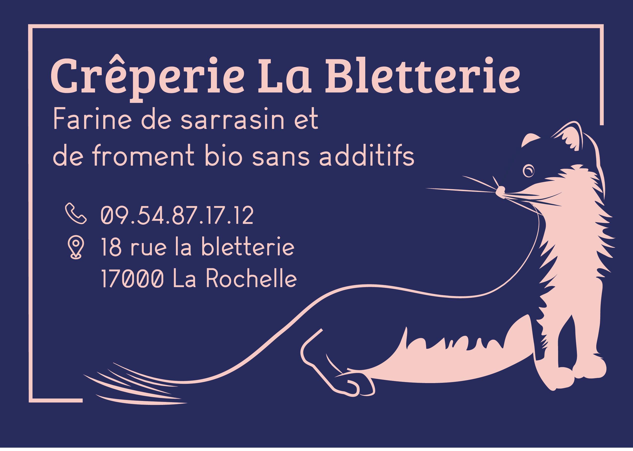 La Fois Amusante Et Accueillante Elle Saccorde Parfaitement Avec Lambiance De Creperie Saura Faire Parler Delle Dans Ville Rochelle