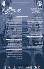 II Foro de Arquitectura y Vida Cotidiana en México poster