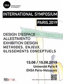 Design d'Espace, Allestimento, Exhibition Design poster