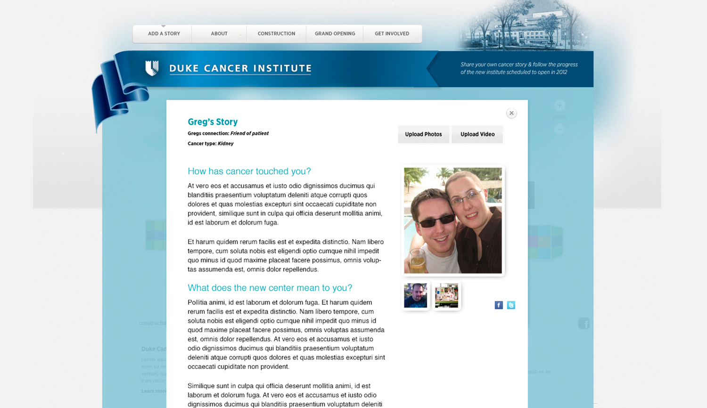 Duke Cancer Institute Hope Interface - vuchnich com