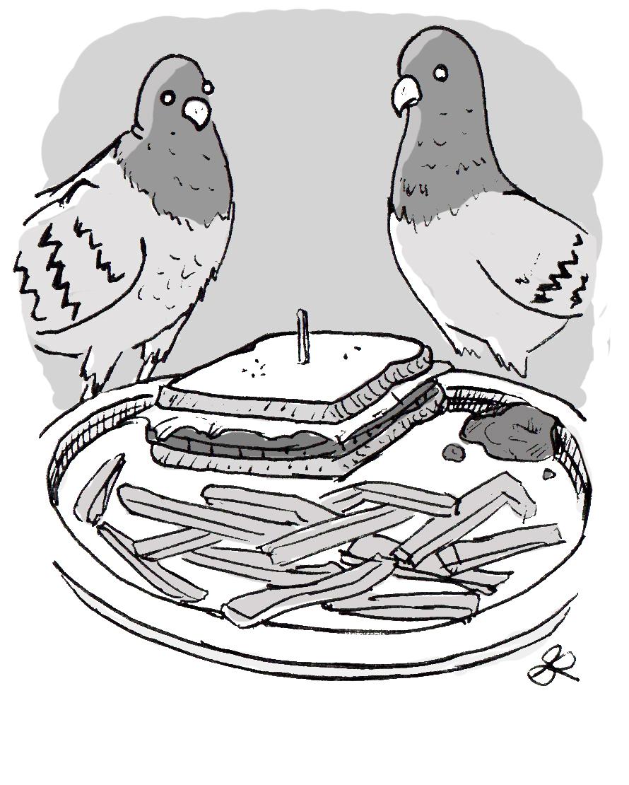 Pigeon Brunch
