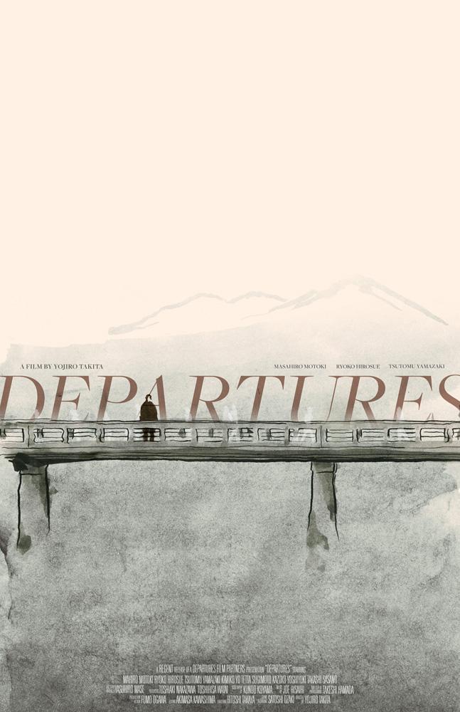 Departures Movie Posters Ancient Future