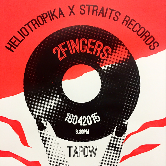 2 Fingers Poster - SuperSegak