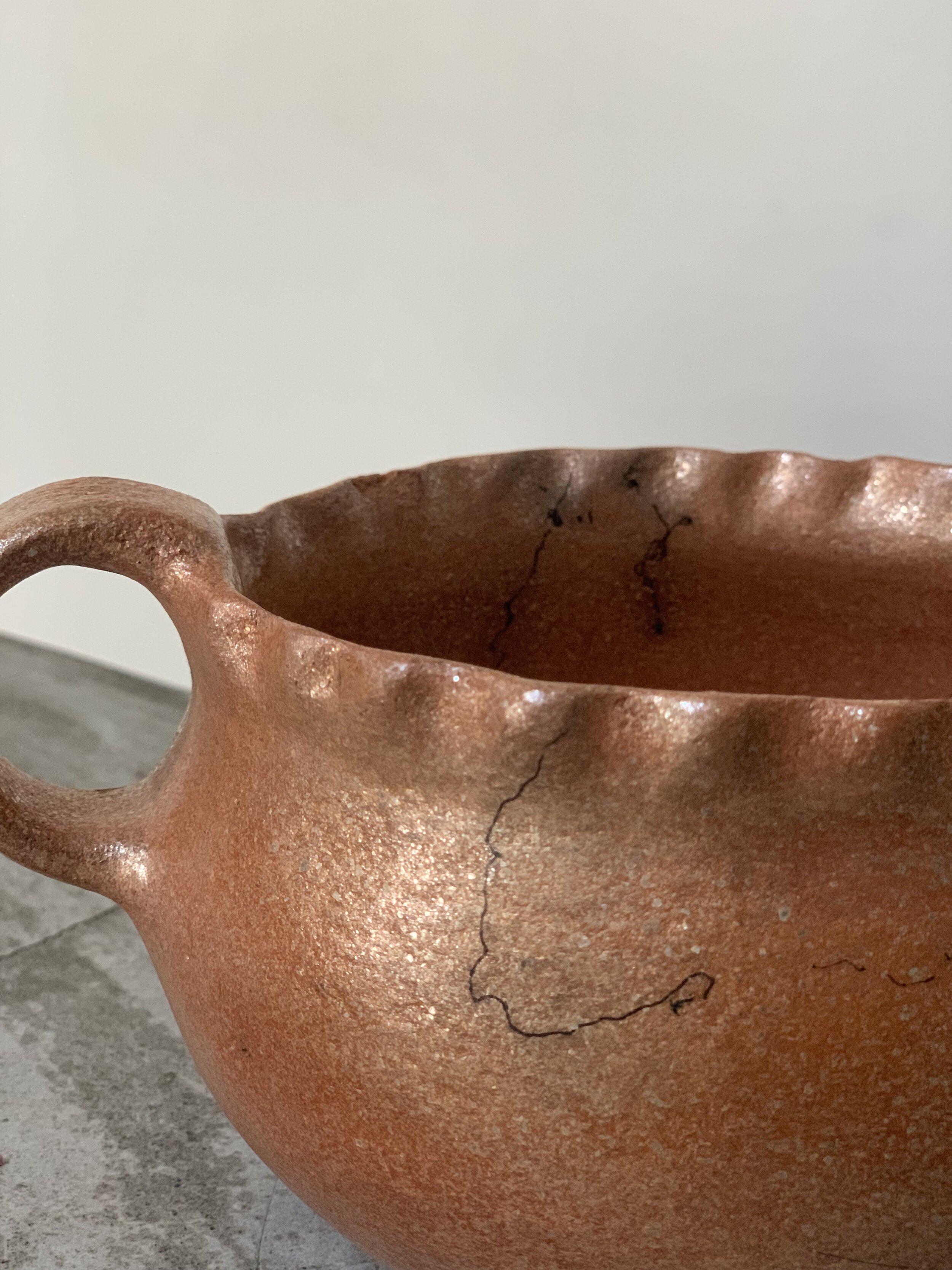 Micaceous Clay Pot