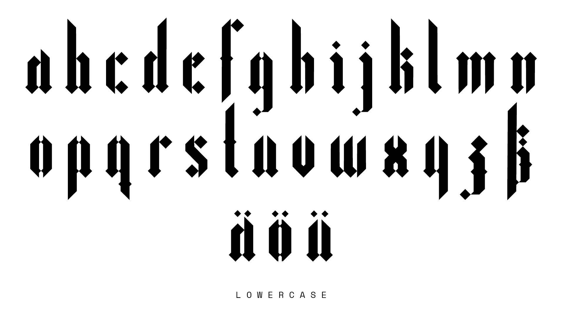 Gargoyle Typeface Www Stroeth Com