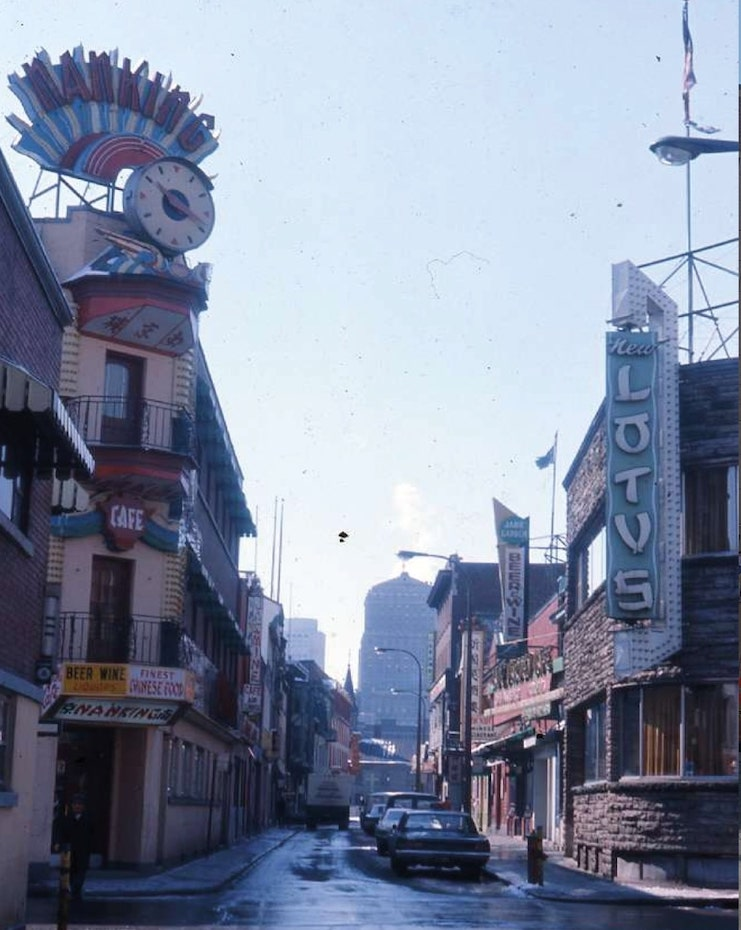 Thumbnail image for Archival Photo Account Montreal: Then And Now on a Chinatown Capsule