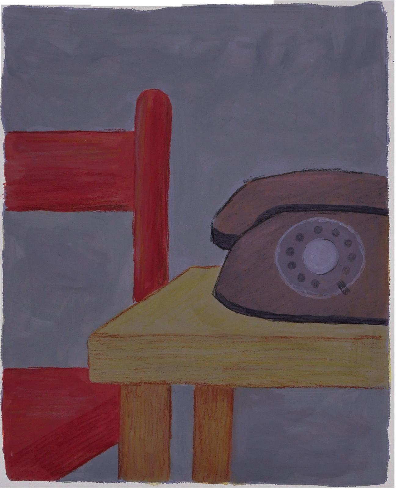 Telefono luz apagada