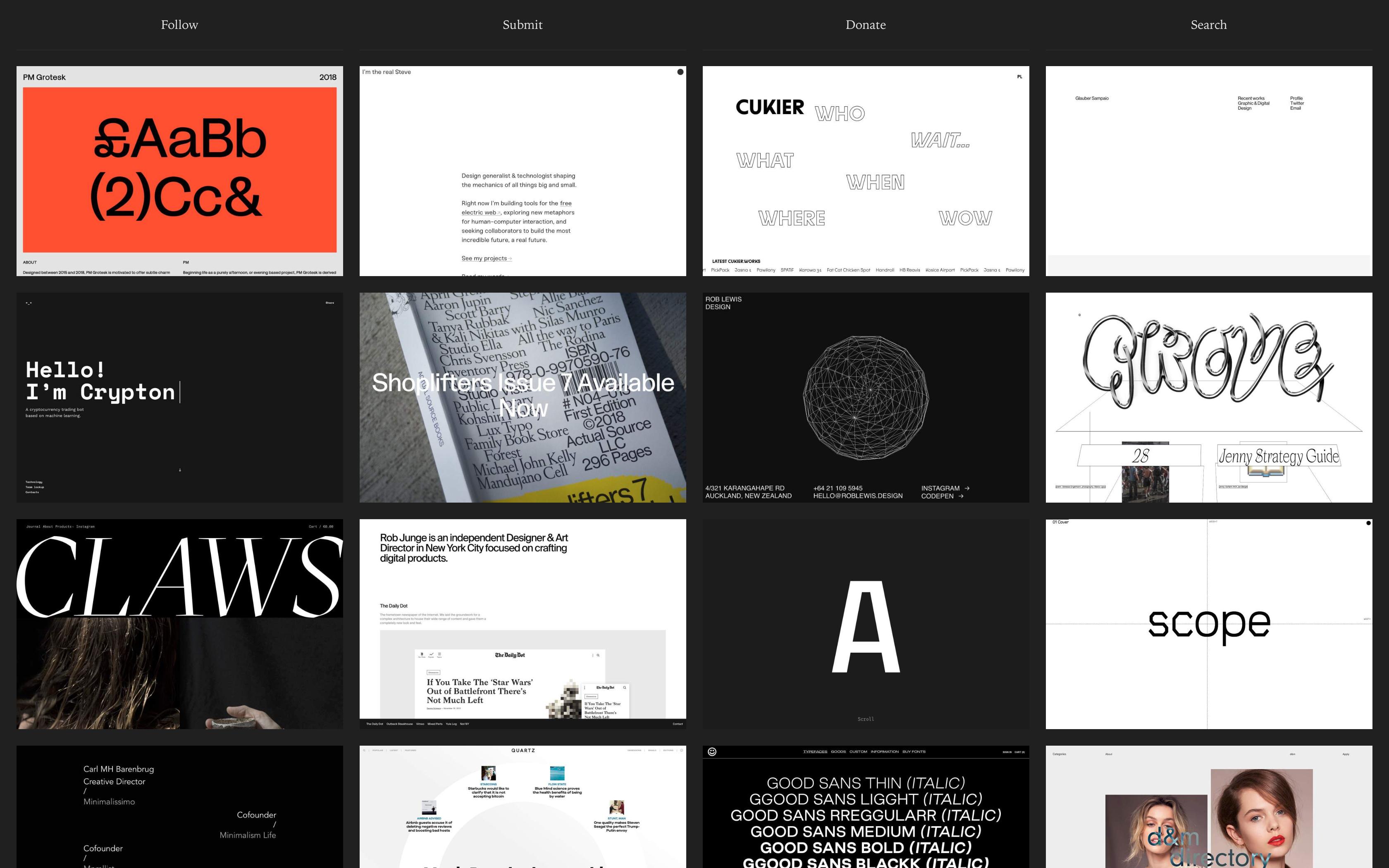 CUKIER Web - Daga Podkrólewicz | Graphic and Motion Designer
