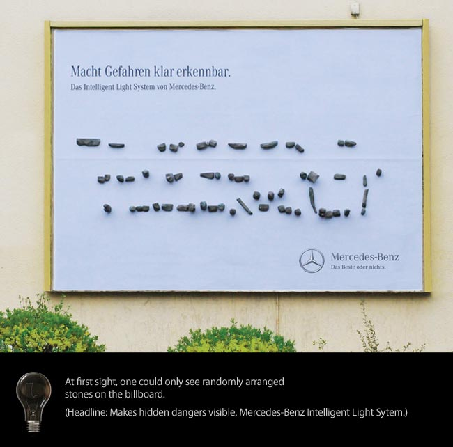 Mercedes-Benz / Light Board - Oskar Strauss
