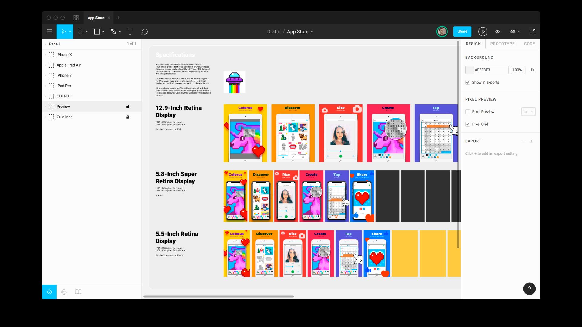App Store Mockup To Test Icons And Screenshots Kaliberda Link