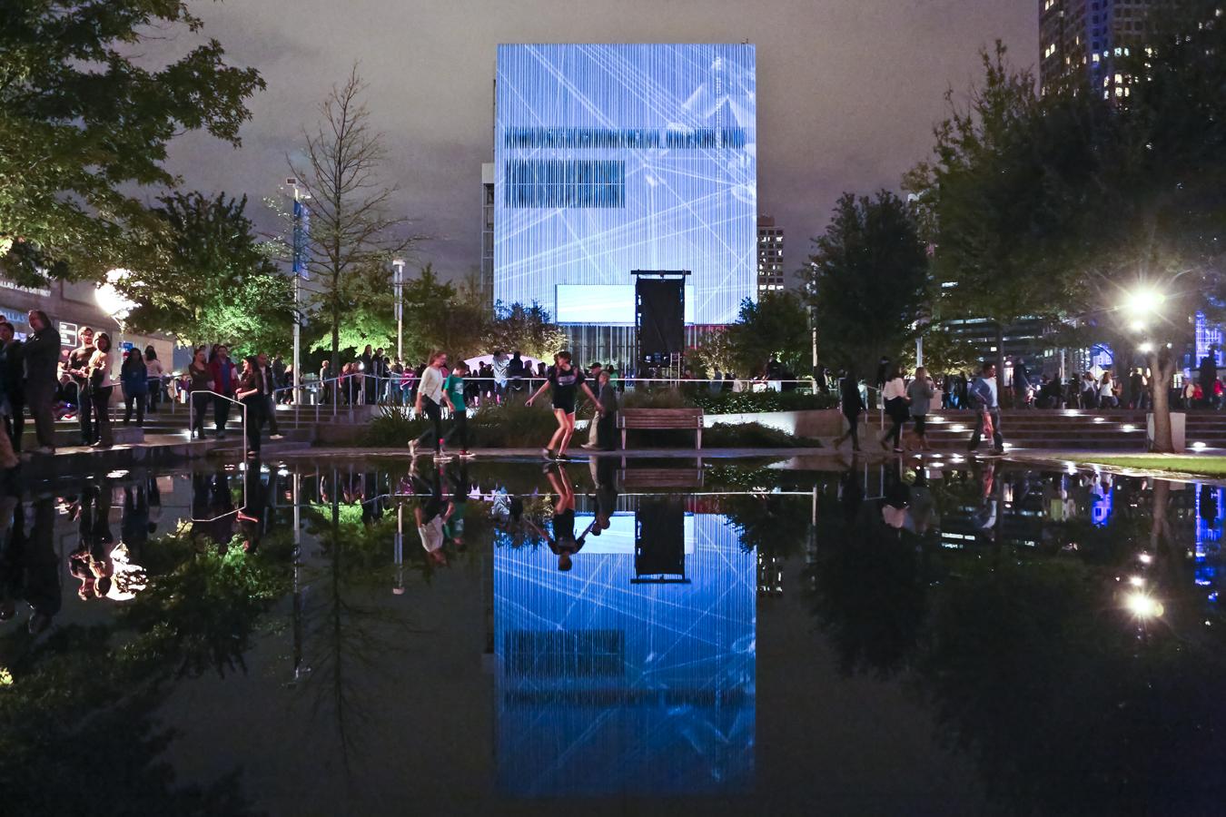 Aurora:  Light, Video and Sound Biennial @ City Hall Plaza