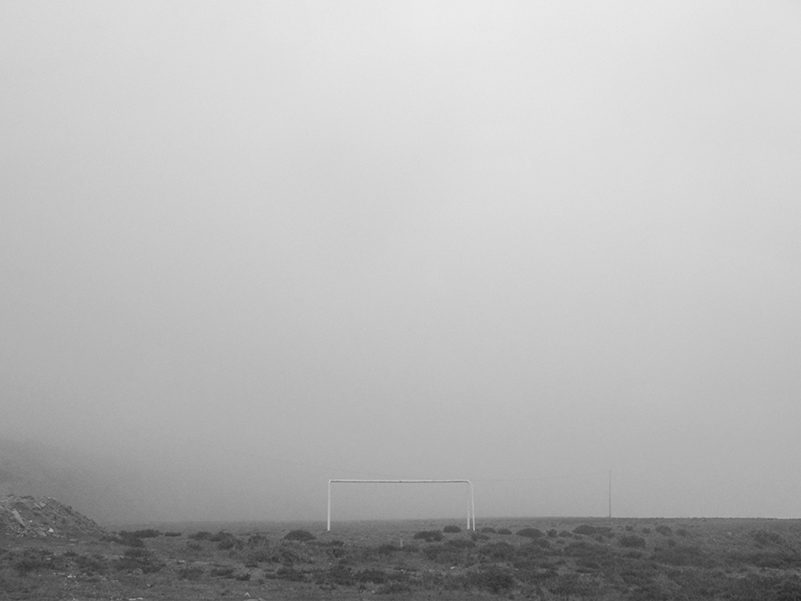 carina martins, the third season - foggy landscape with landmark