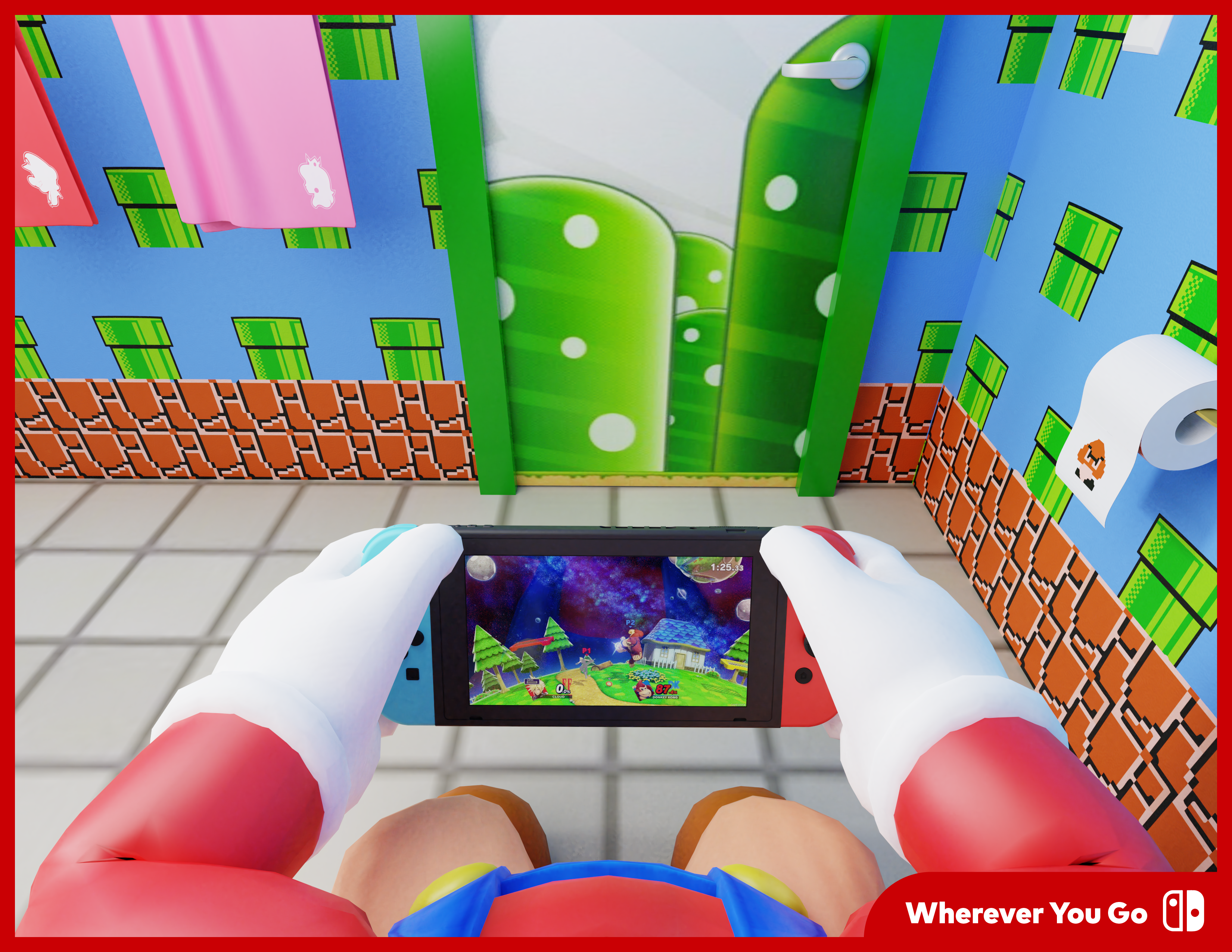 Nintendo Switch – Wherever You Go - One and a Half Brazilians