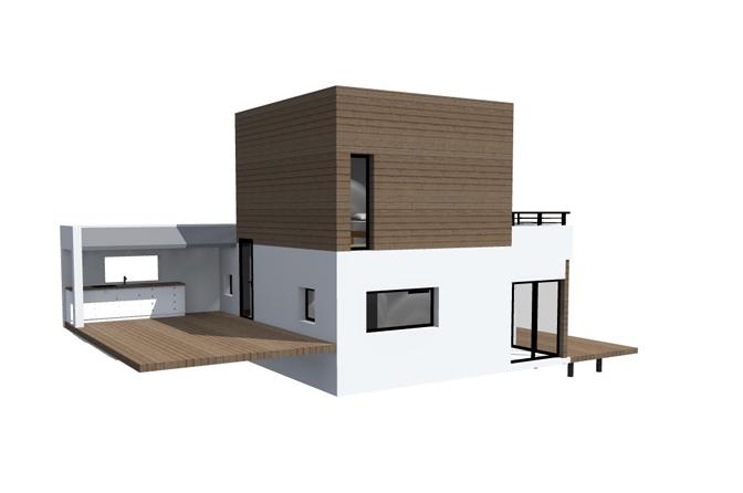 Petite Maison Bois Md Architecte Com