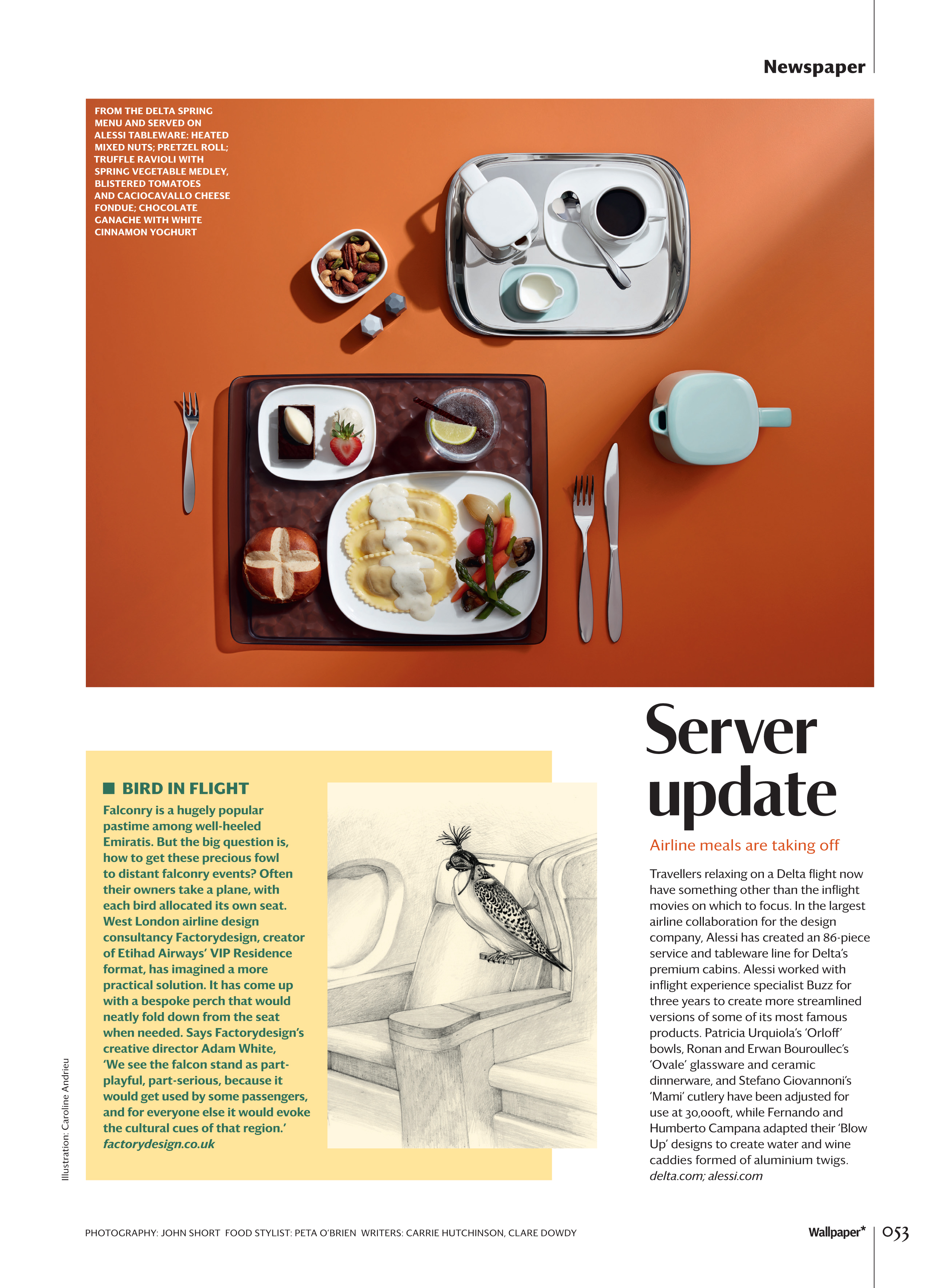 Wallpaper Magazine Caroline Andrieu