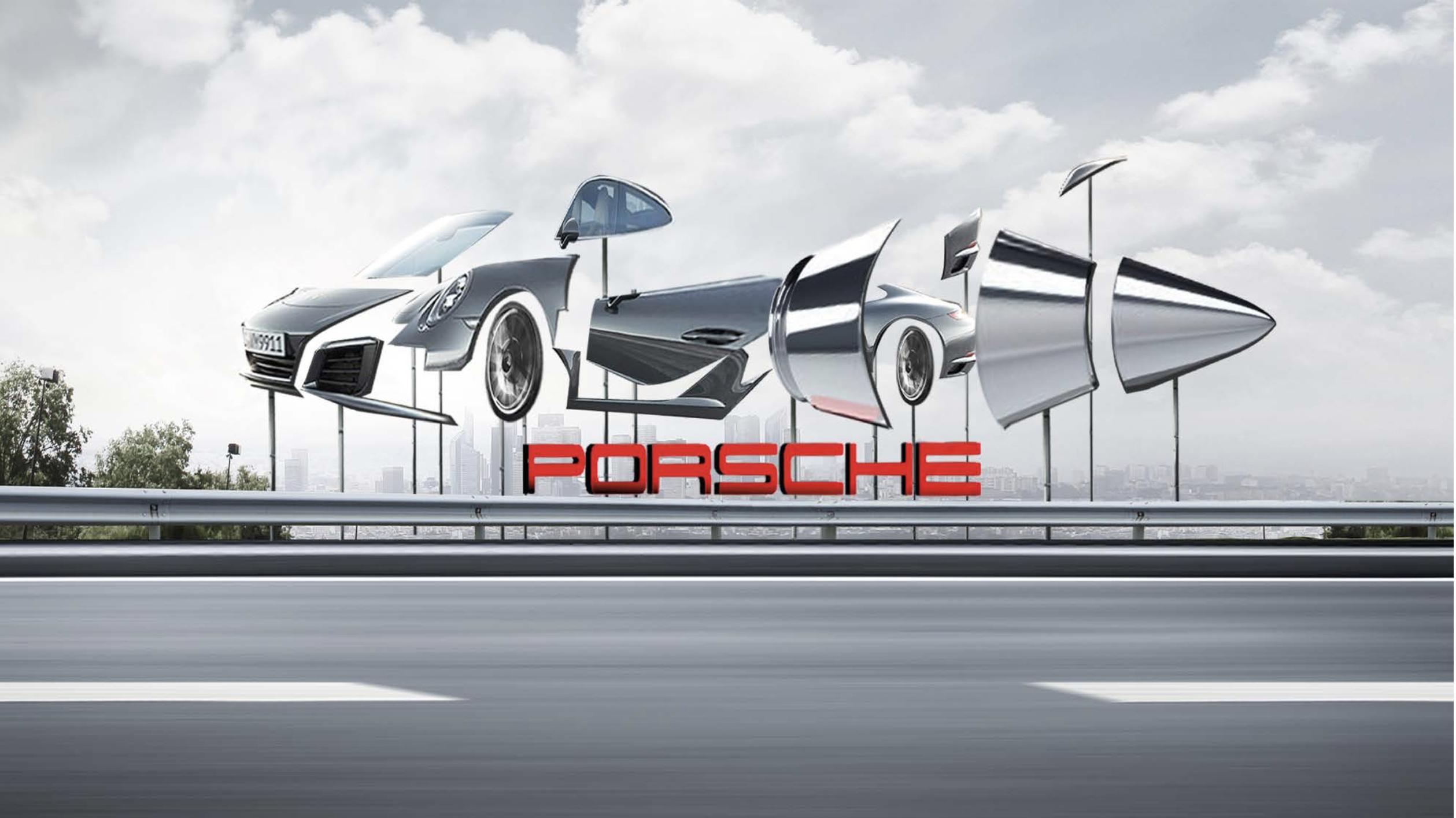 Porsche 70 Years Anniversary Stunt Nan S Journey
