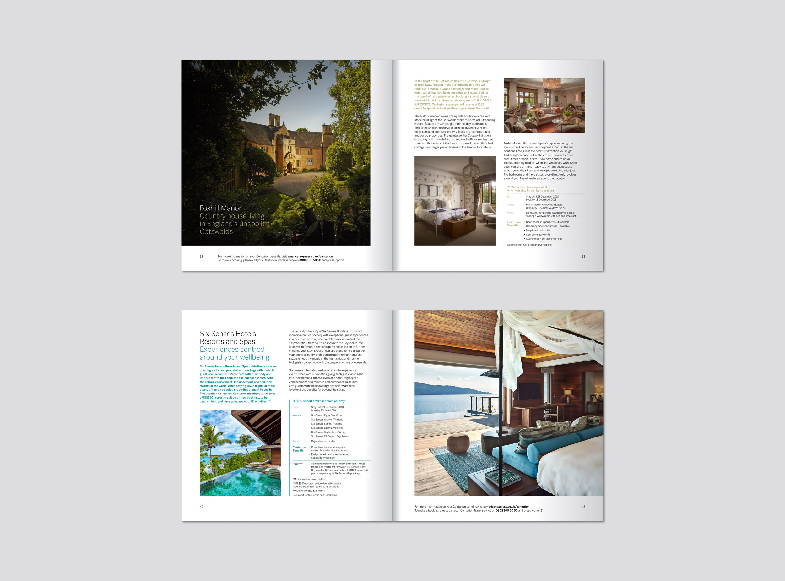 Bon Vivant & Preview for Amex - House of SL