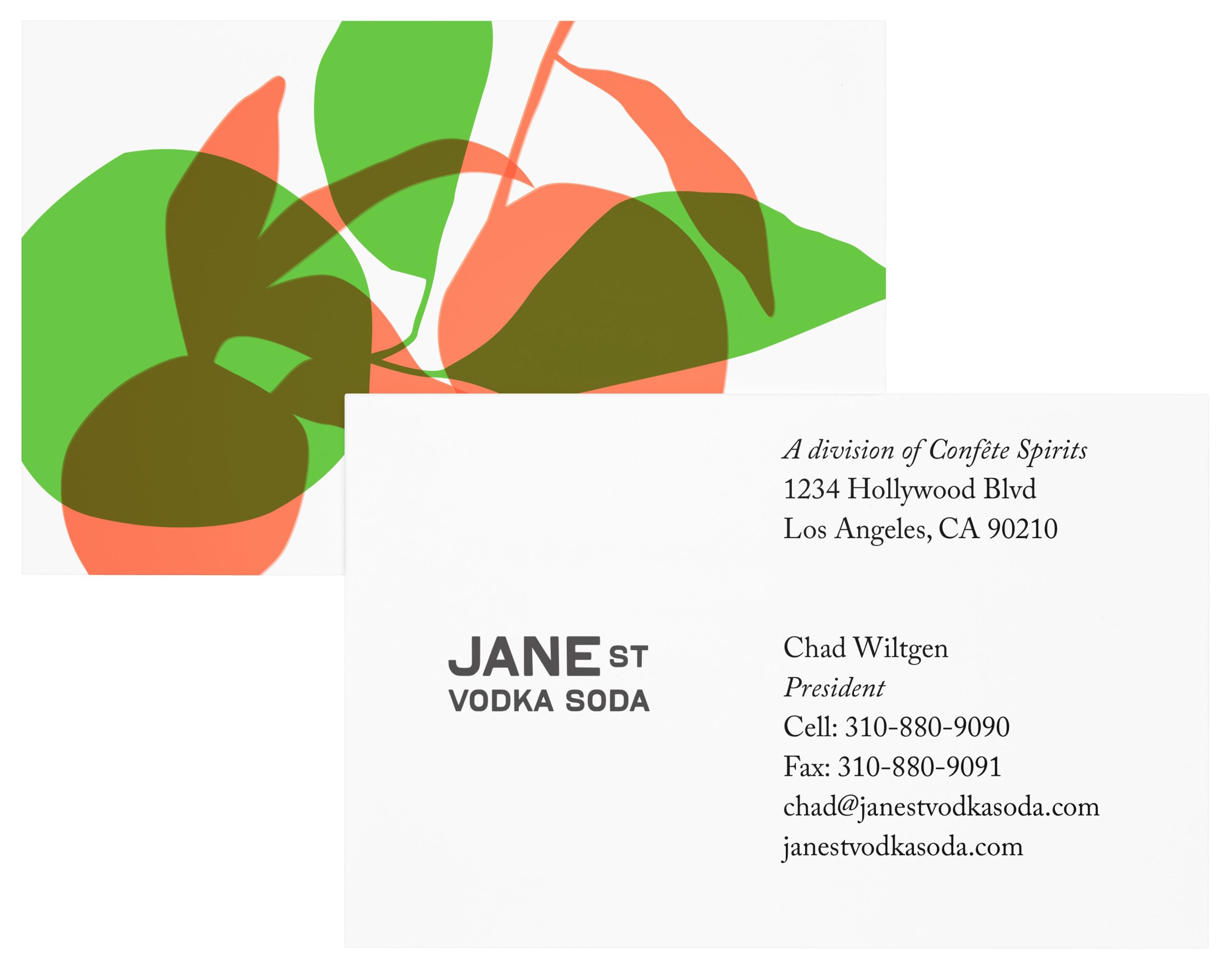 Jane St Vodka Soda - Elise Mattingly
