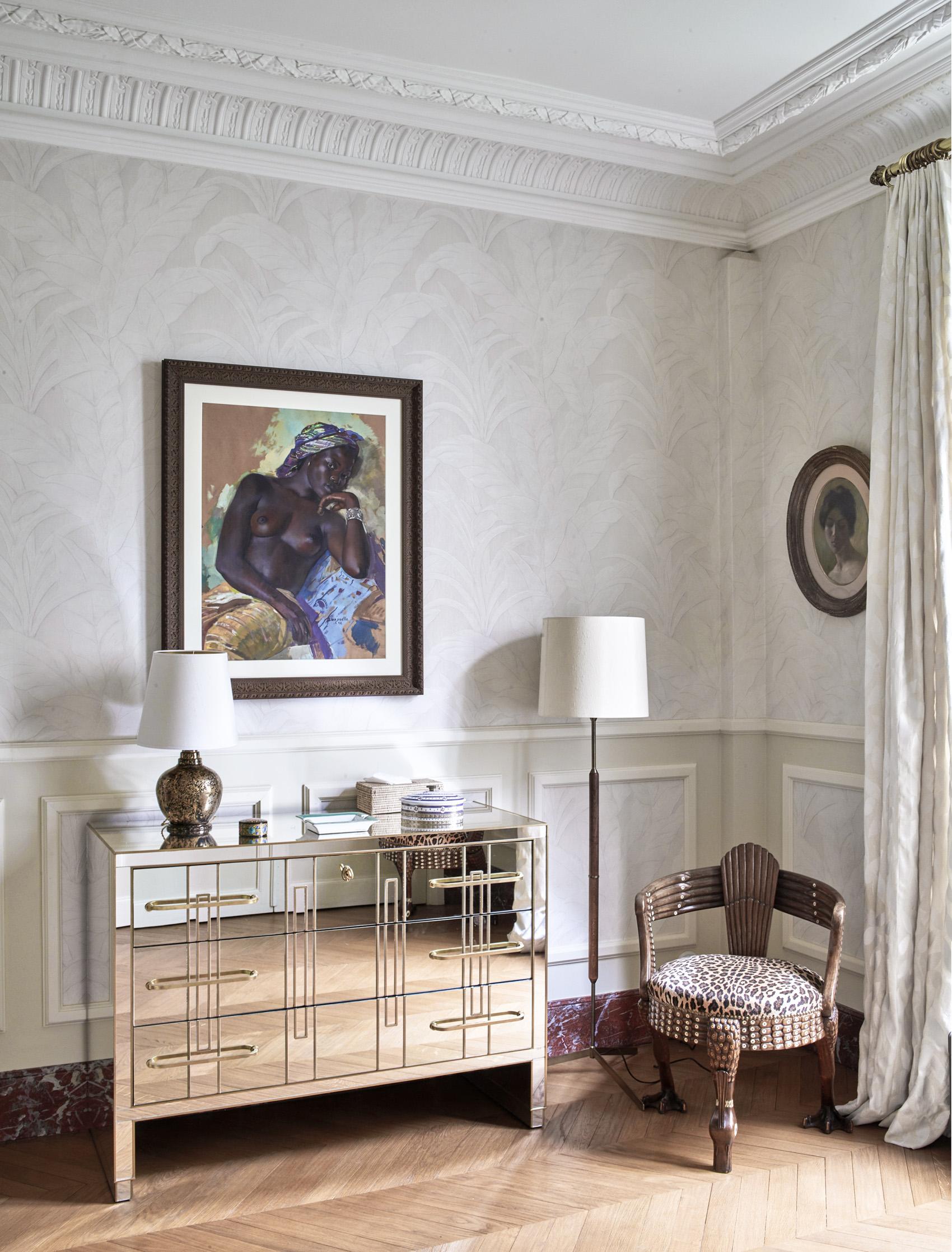 Papier Peint Trompe L Oeil Plafond interiors - alix thomsen