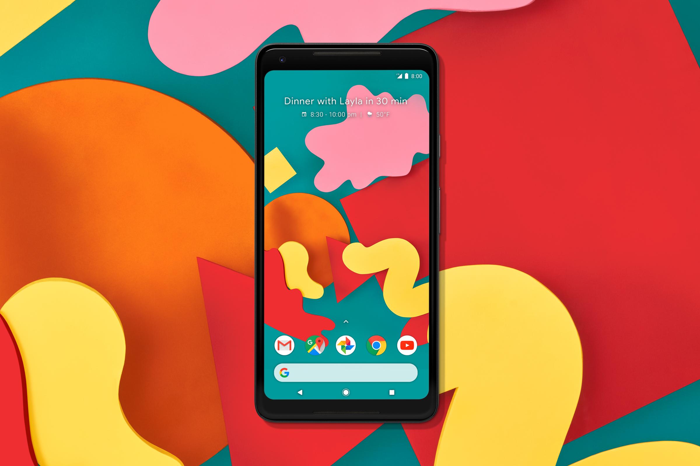 Google Pixel 2 Wallpapers Leta Sobierajski