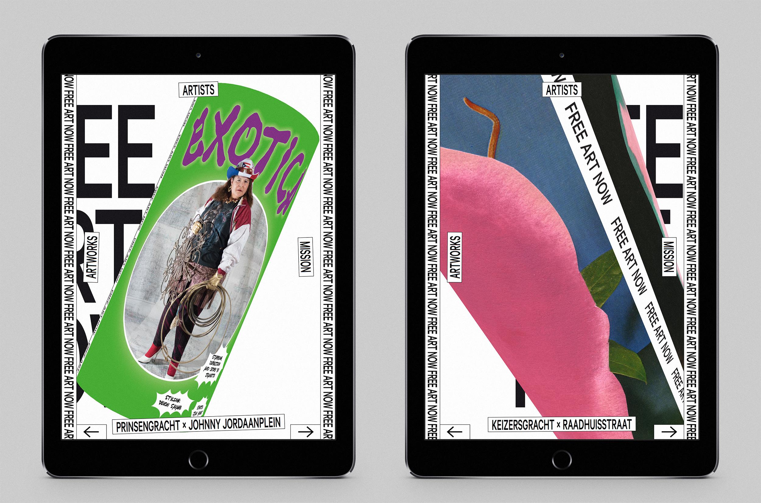 free art now website studio lennarts de bruijn