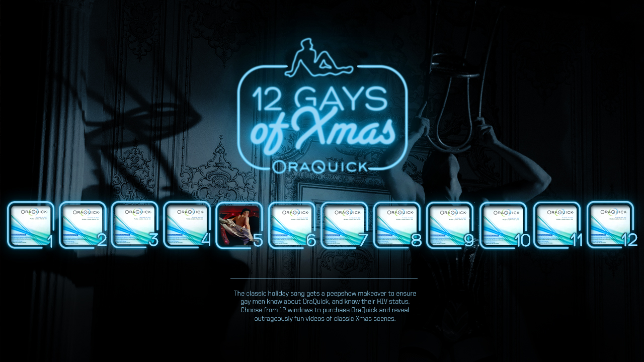 12 gays of Xmas - Matteo Capaldi Creative