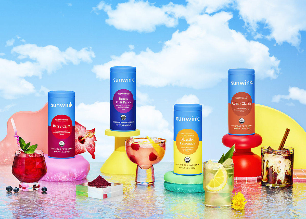 SUNWINK Summer Campaign - Party Of One Studio