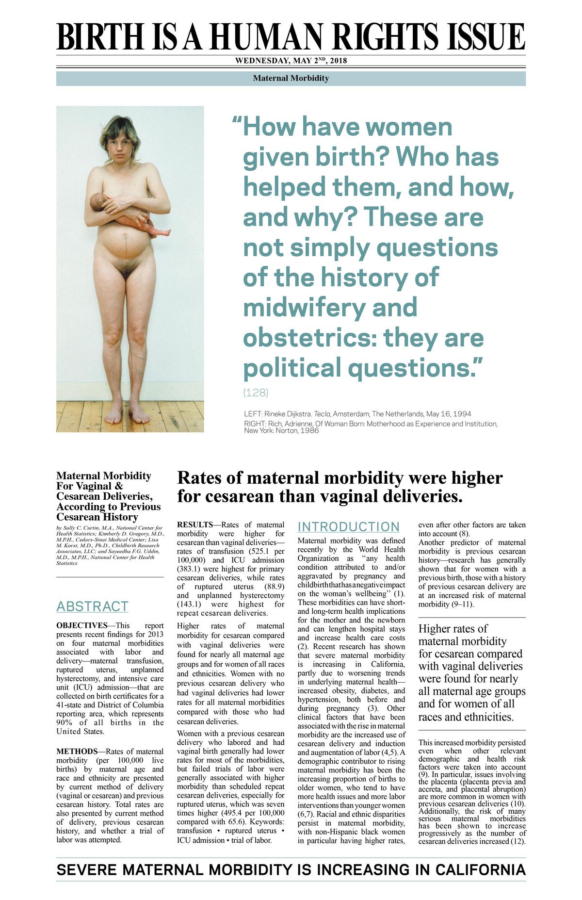 Birth is a Human Rights Issue - Dani Grossman
