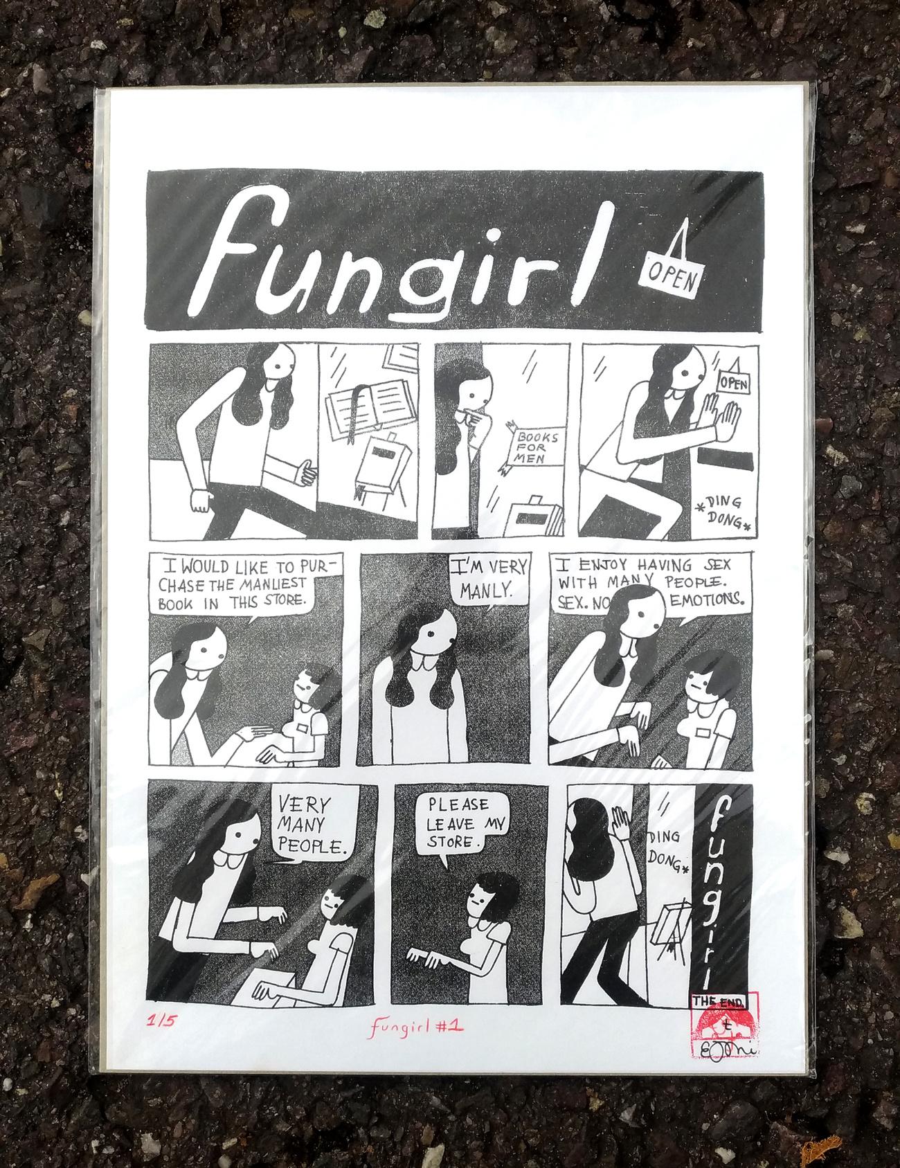 Fungirl - Books For Men - Elizabeth Pich
