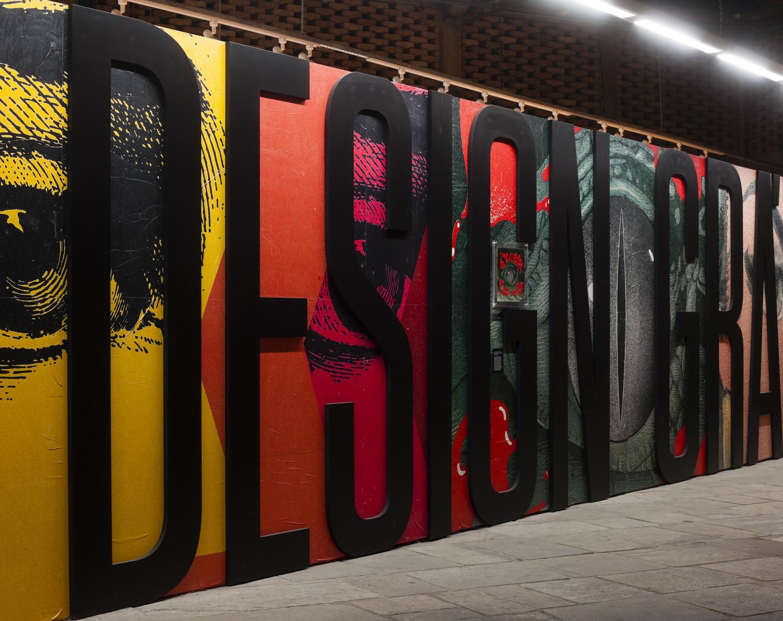 Túnel do Tempo do Design Gráfico - Sesc Pompeia