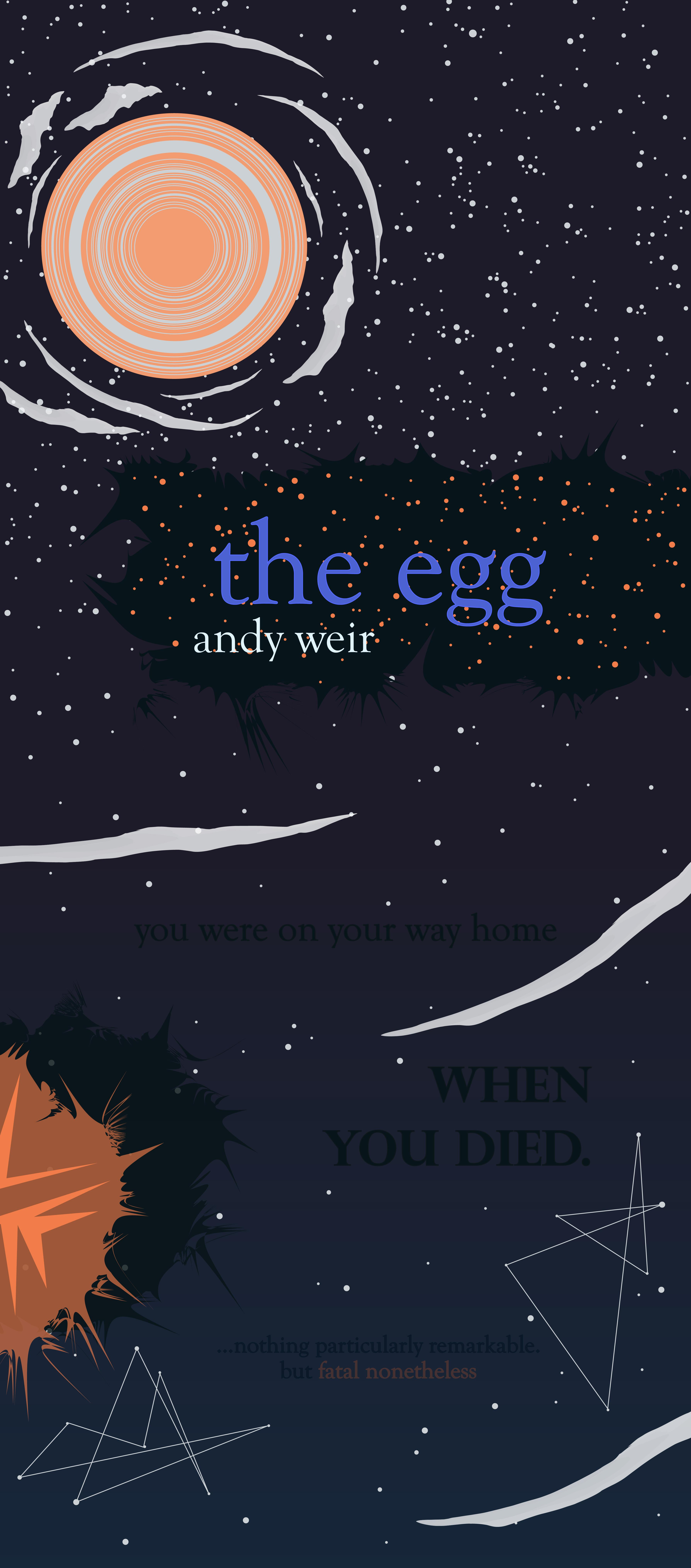 Egg theme the andy weir 10 Mind
