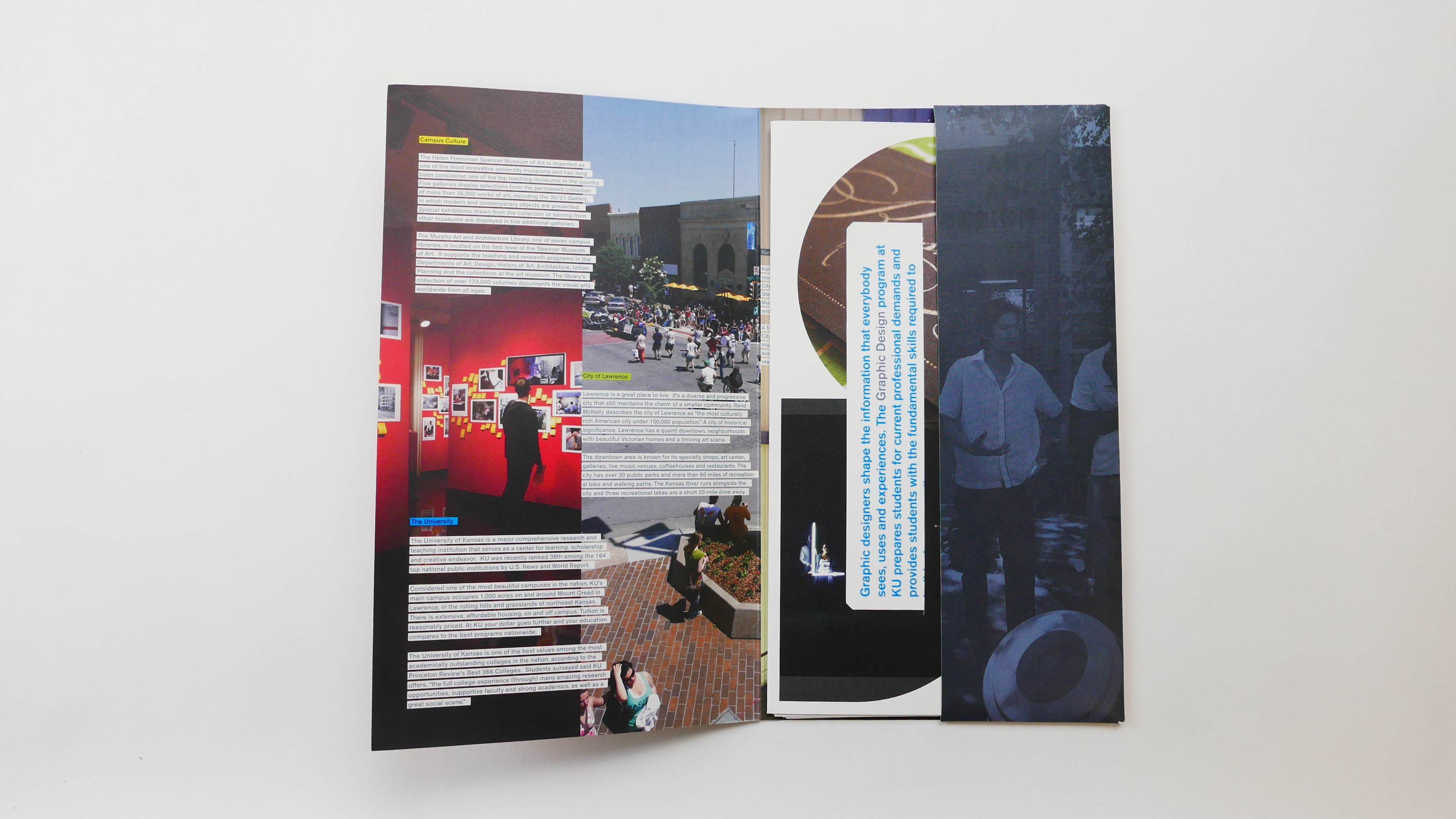 Design Department Promotional Materials - Jeremy Shellhorn