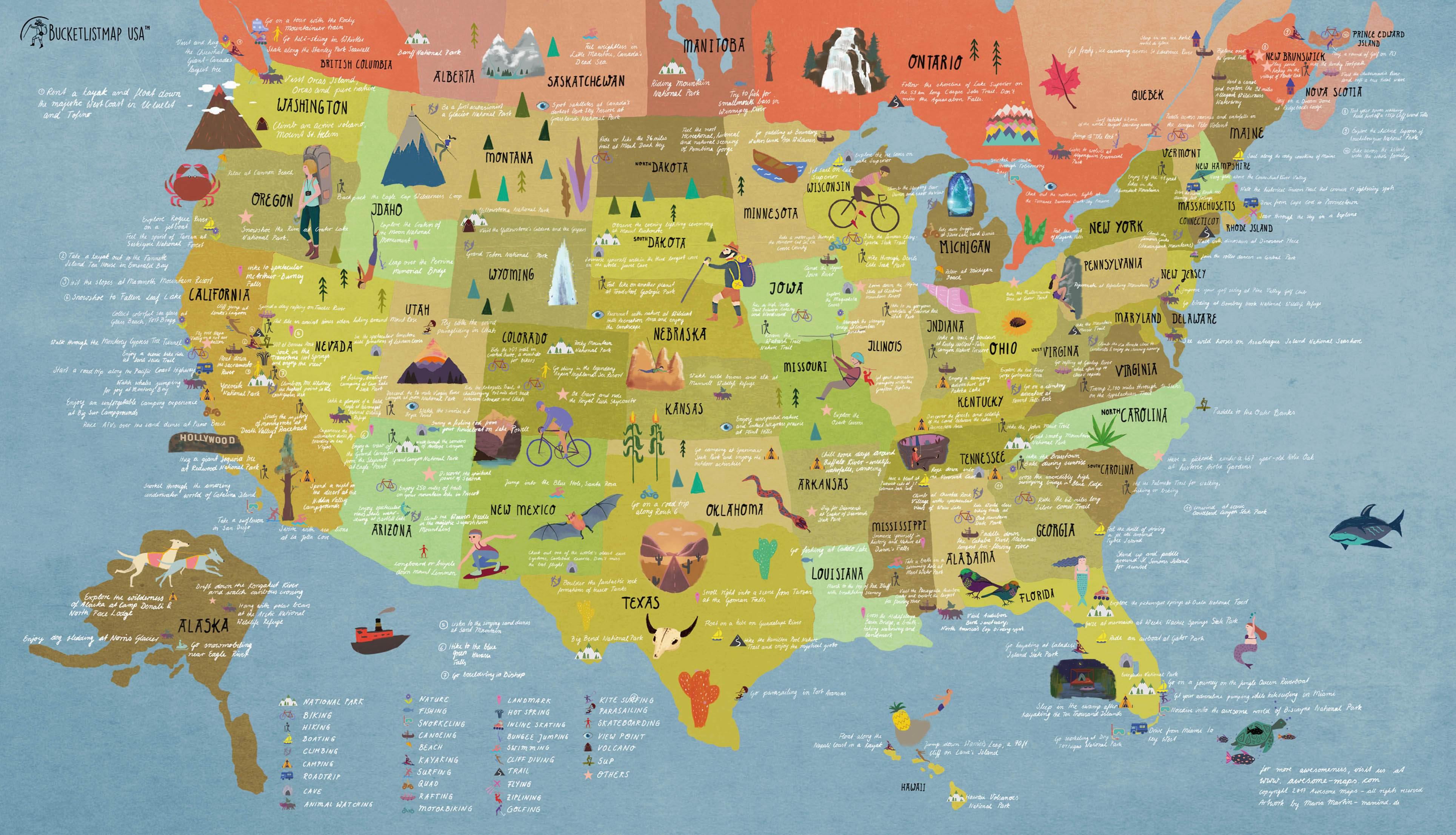 USA Map - mamind Image Of Map Usa on