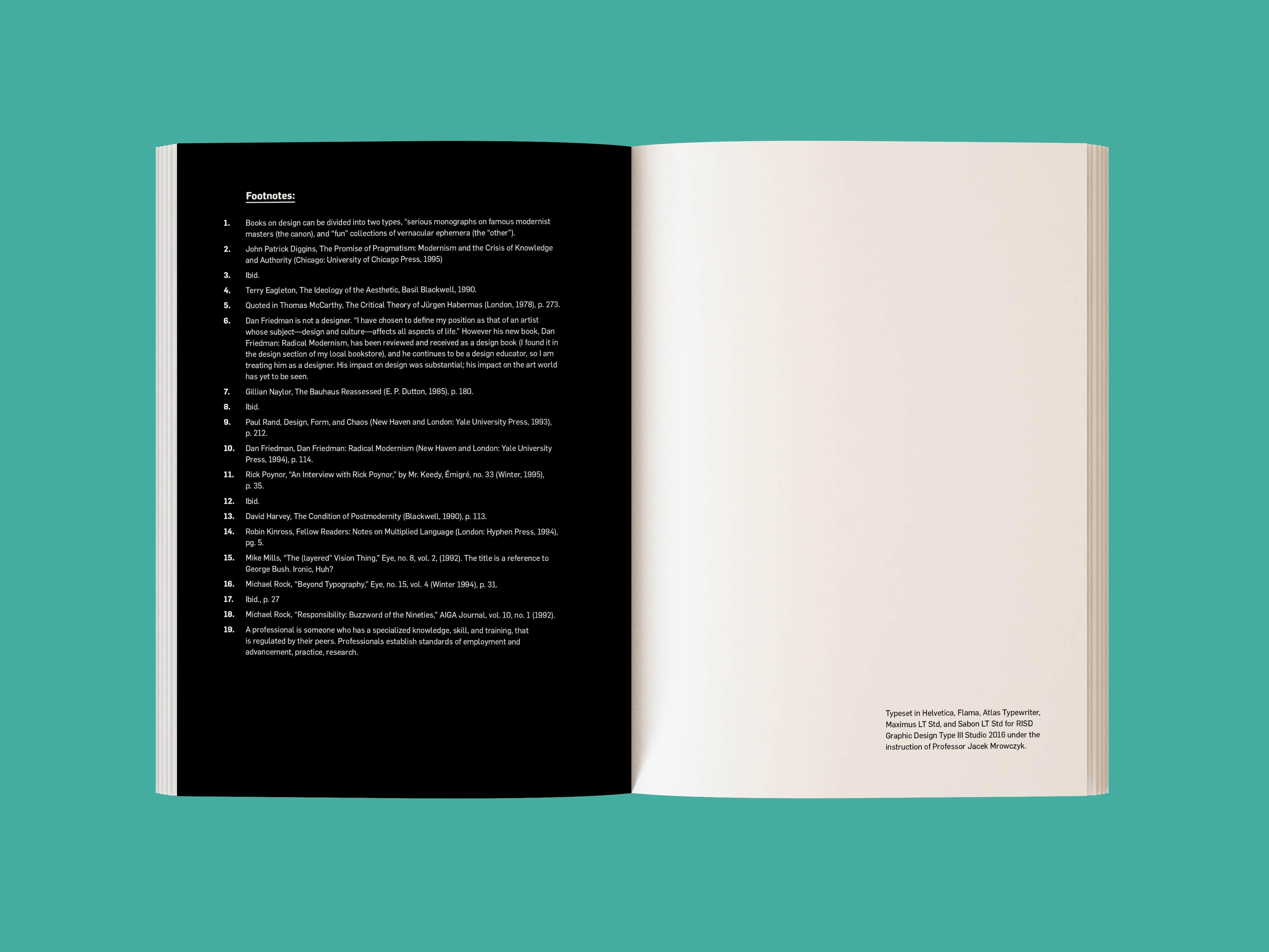 Long Live Modernism! - Kendra Xu — Design Portfolio