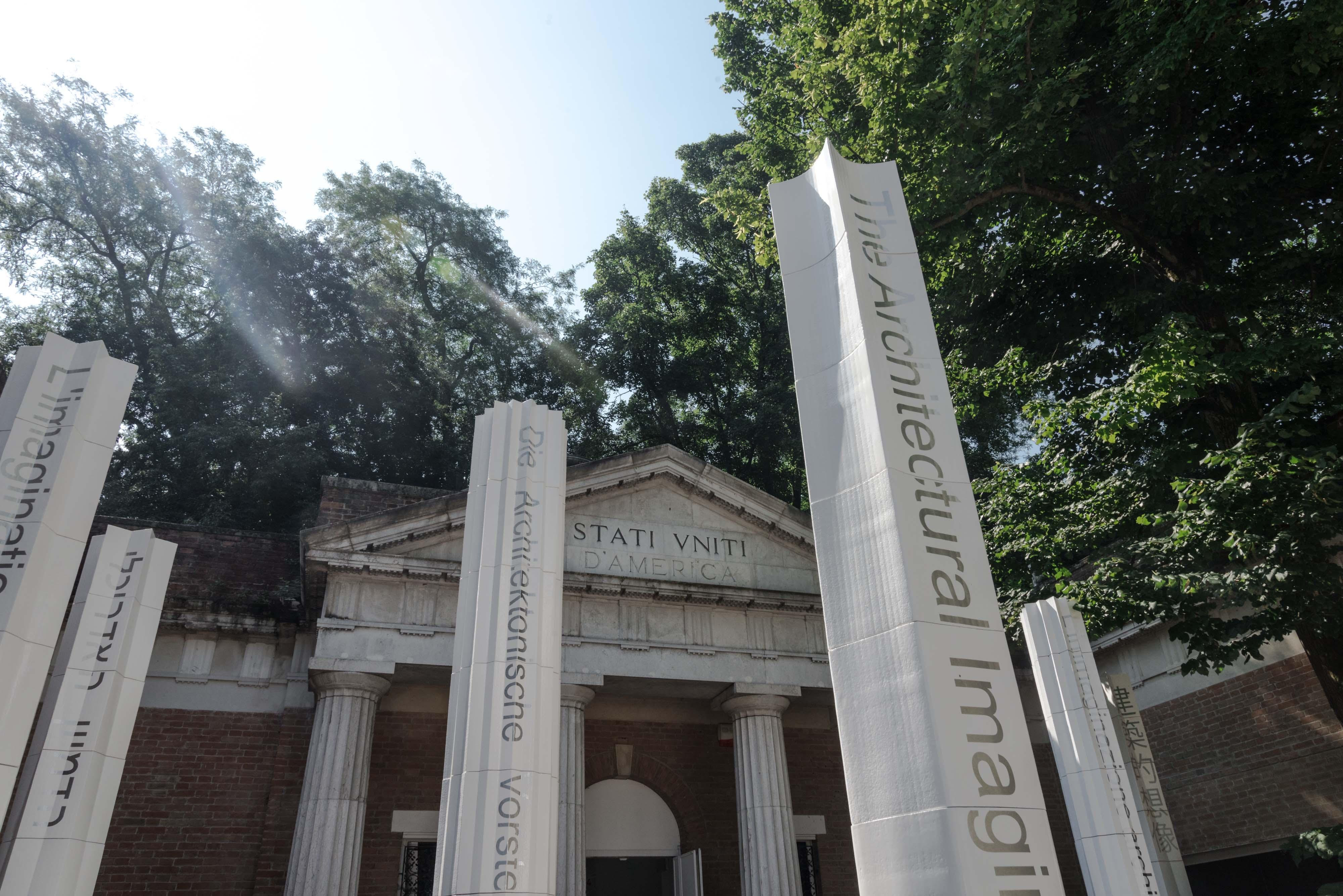 Venice Biennale U S Pavilion Courtyard Installation Mpdl Studio