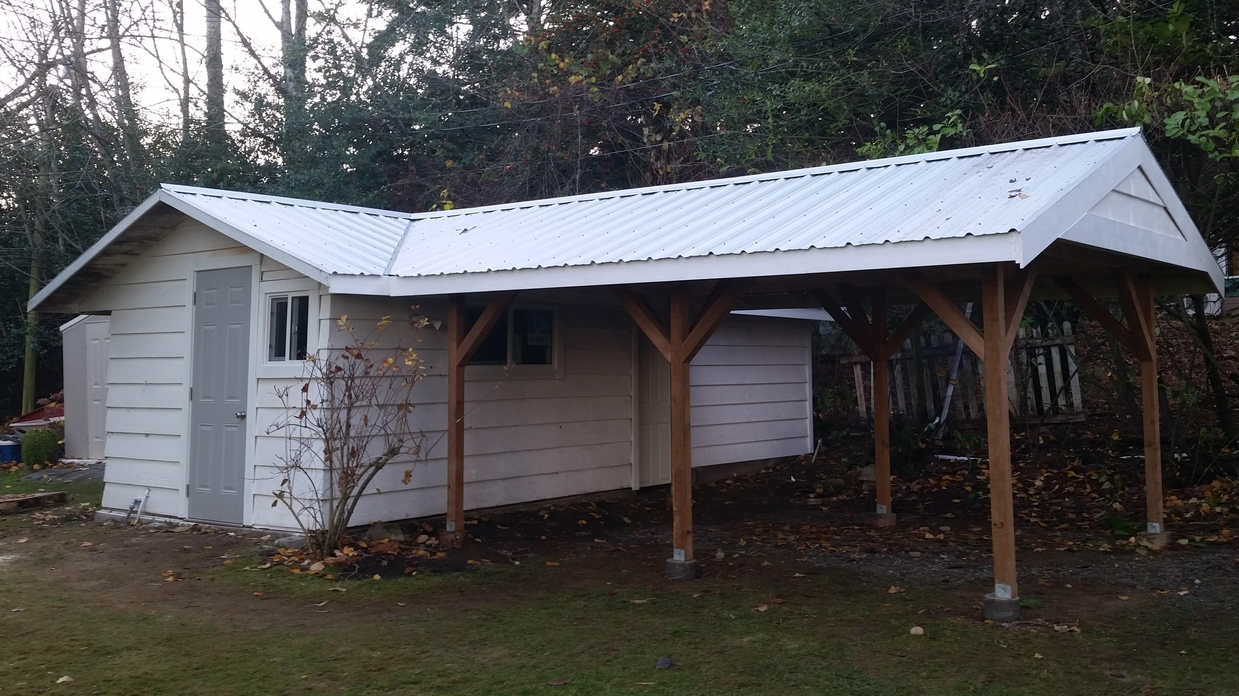 Shed Extension Carport Turney Carpentry