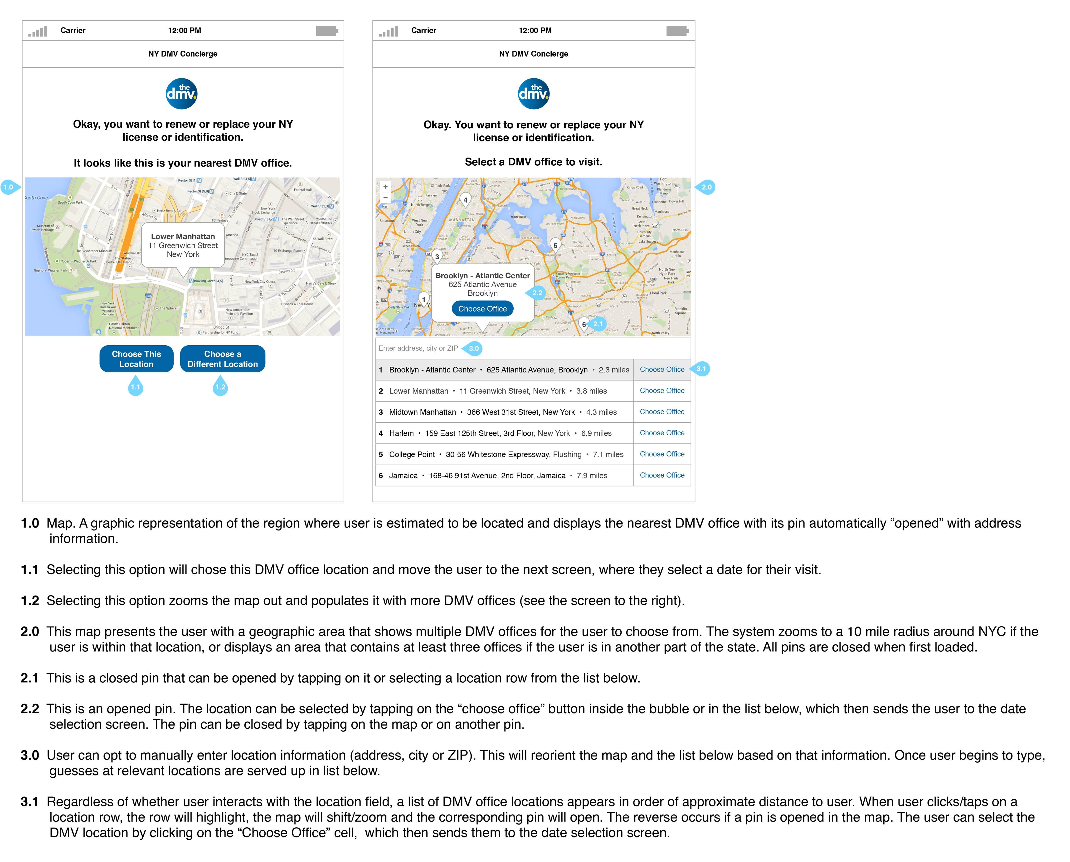 DMV Reservation App – UX Redesign - Studio Strikeout