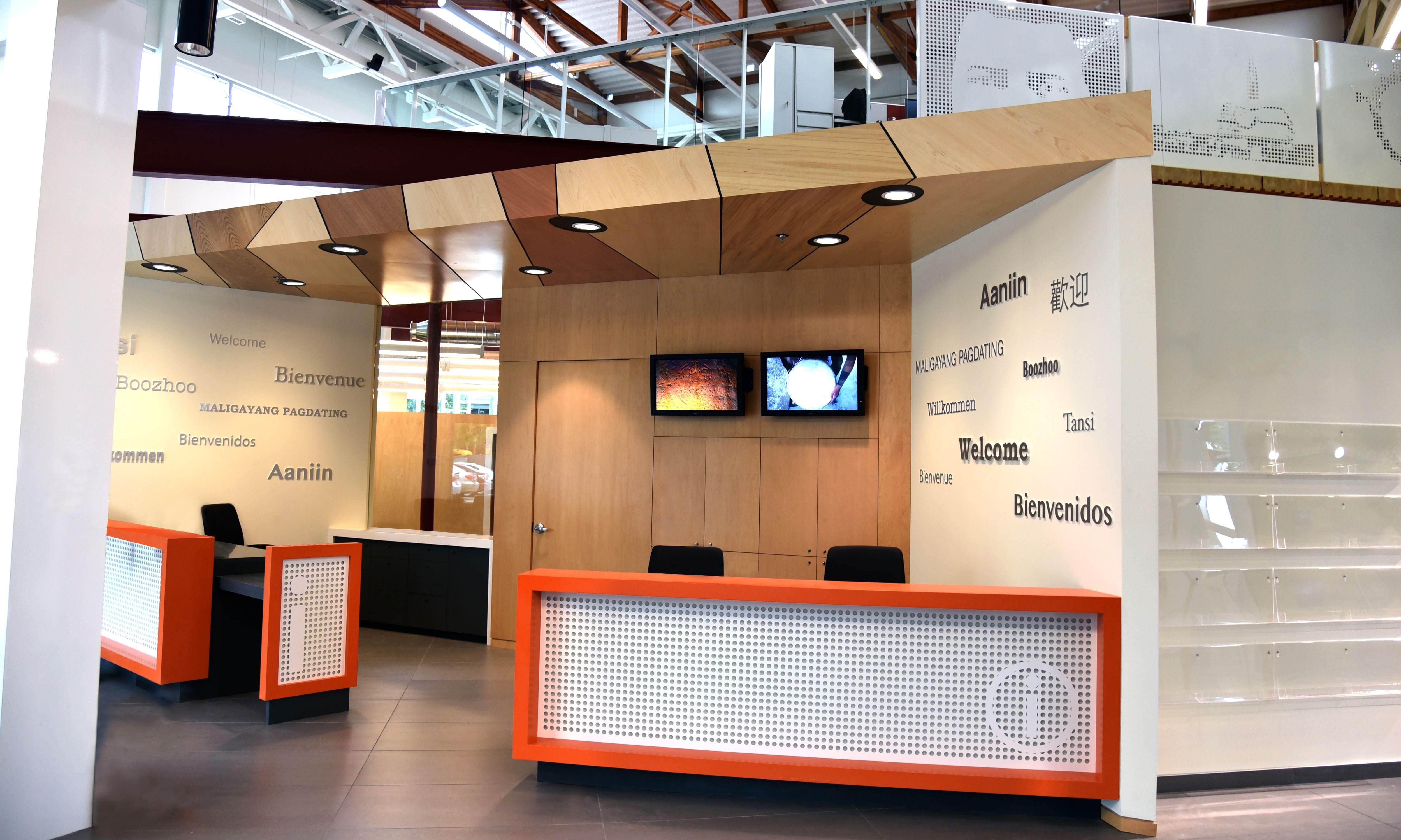 Travel Manitoba Visitor Information Centre U0026 Office   Sputnik Architecture