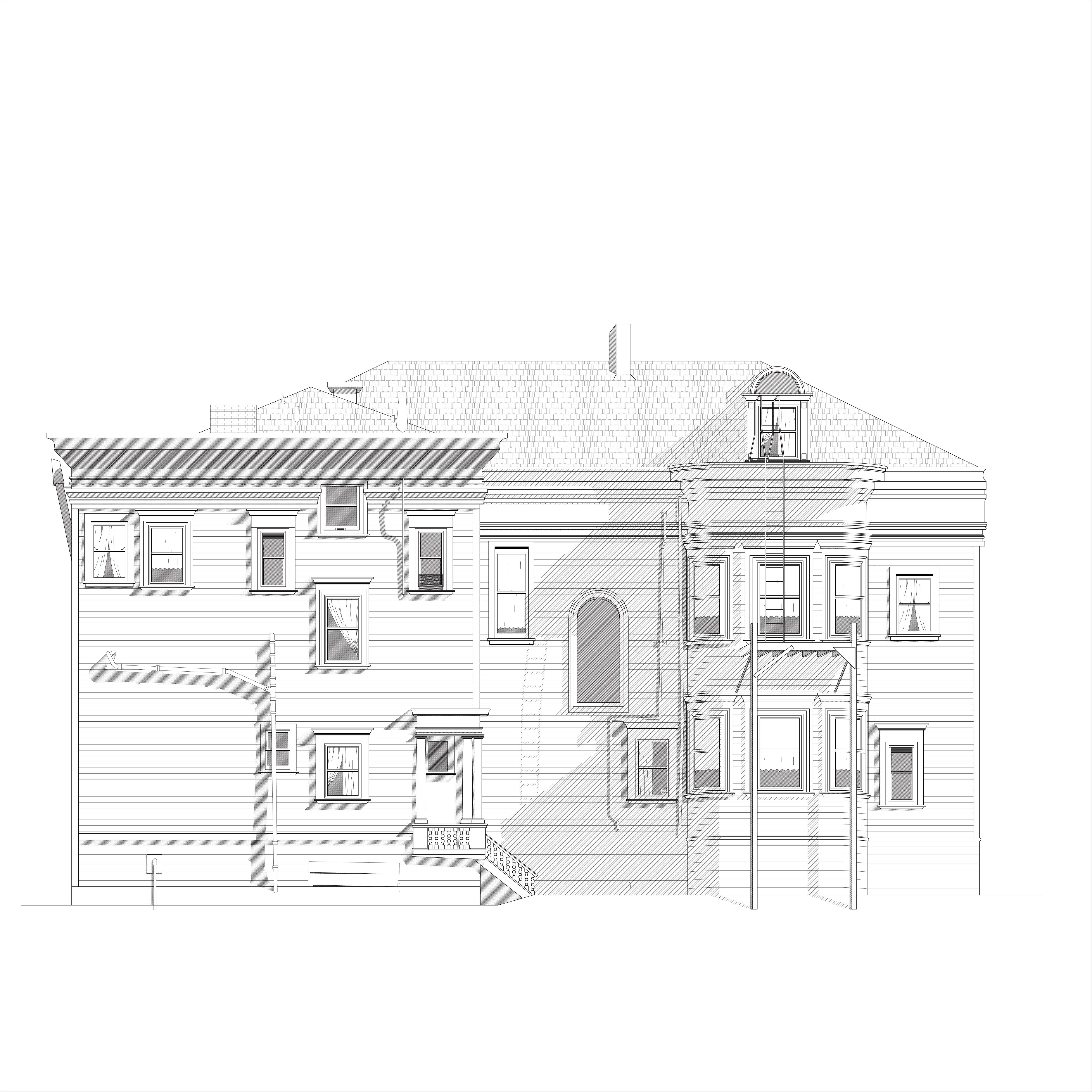 Then House No 2 A Victorian Re Drawing Endemic Architecture