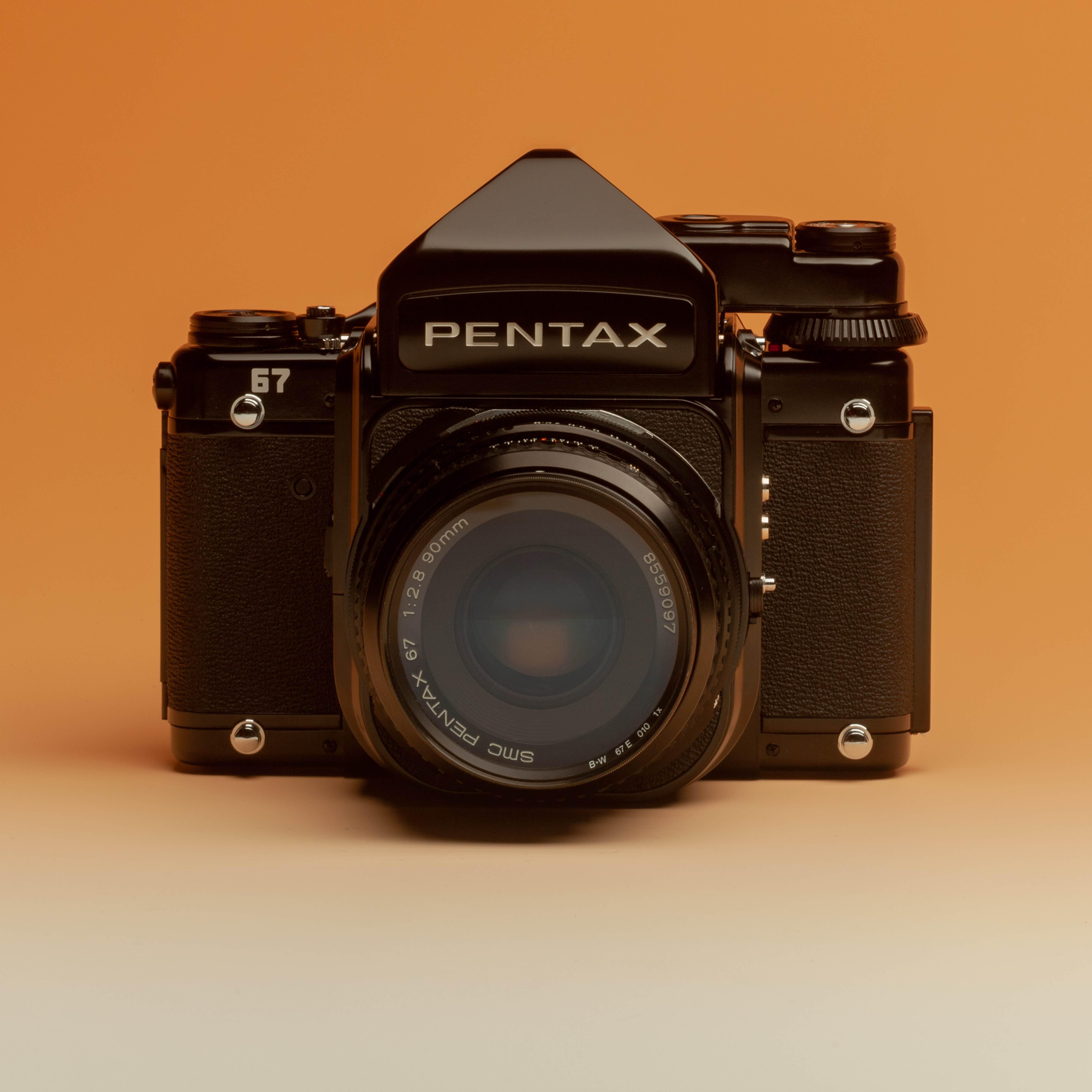 Pentax 67 + SMC 90mm f2,8 - Plane  Camera