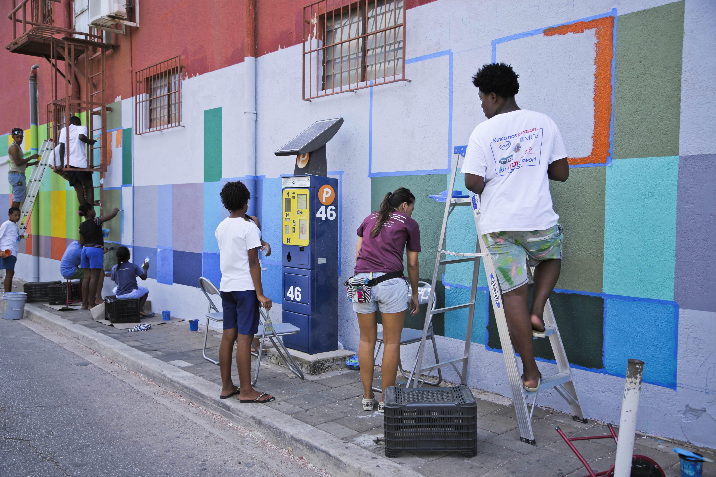 Bermuda Model For Art Project